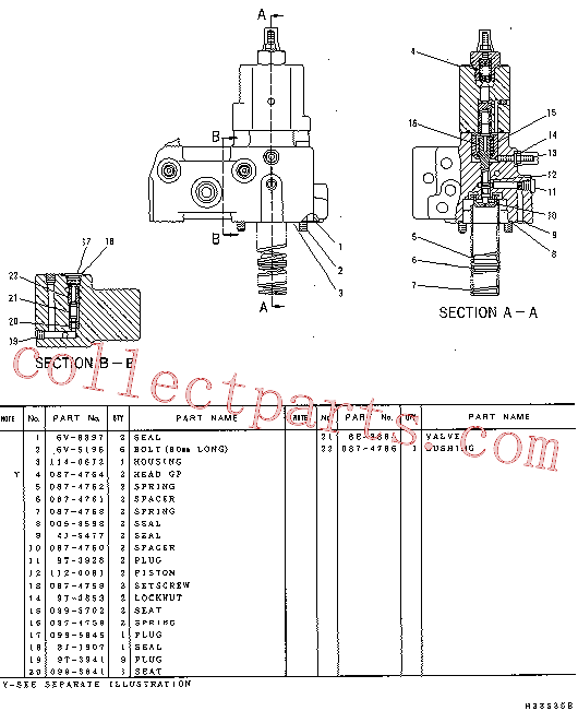 CAT 099-5702 for 322-A N Excavator(EXC) hydraulic system 114-0670 Assembly