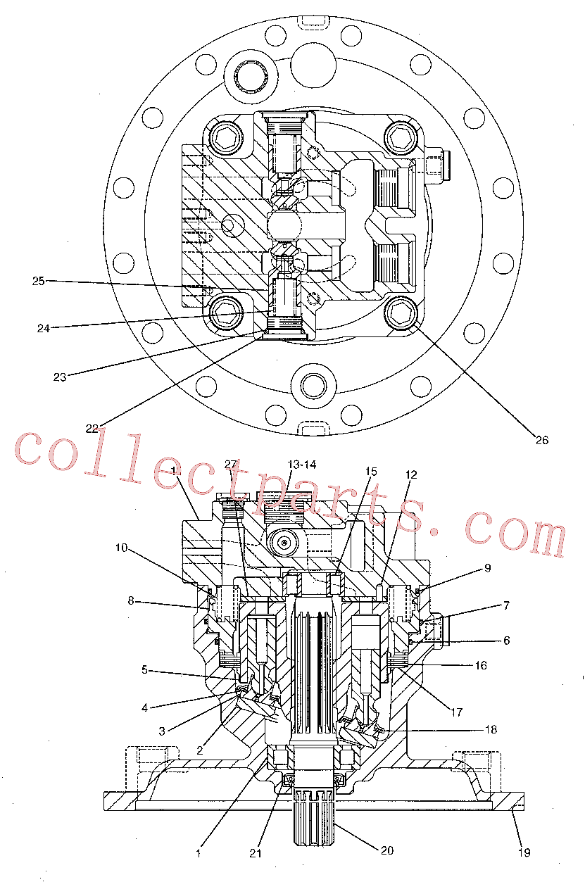 CAT 126-2055 for 320D LRR Excavator(EXC) hydraulic system 191-5542 Assembly