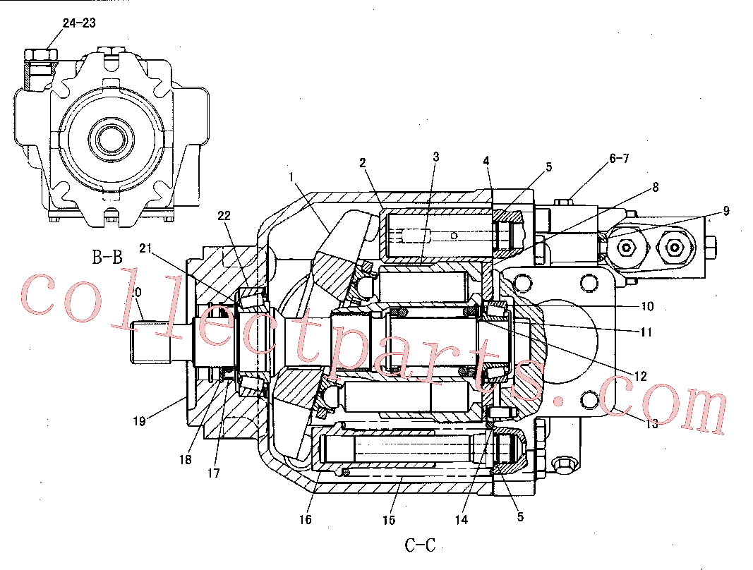 CAT 8T-7811 for 320D FM Excavator(EXC) hydraulic system 165-7634 Assembly