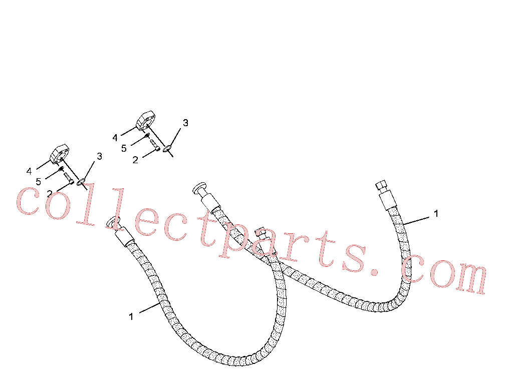 CAT 8T-7811 for 349E Excavator(EXC) hydraulic system 235-5048 Assembly