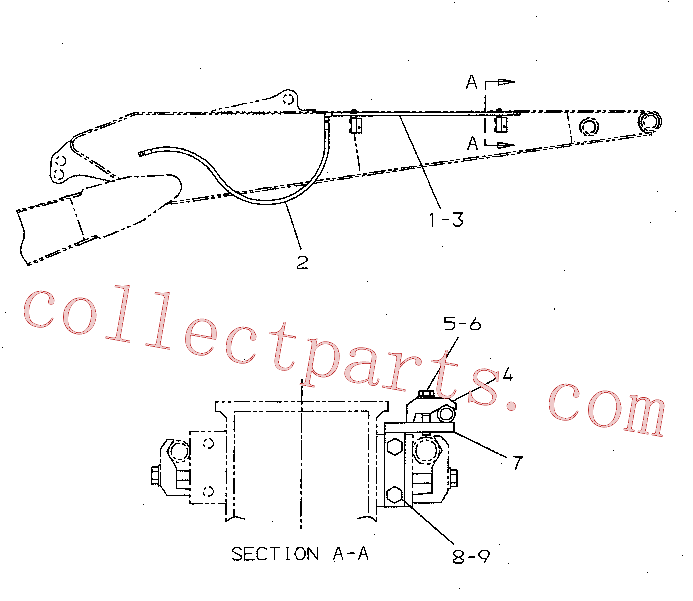 CAT 193-6549 for 312C L Excavator(EXC) hydraulic system 277-0883 Assembly