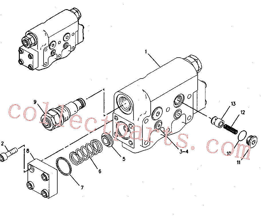 CAT 129-7932 for 320D L Excavator(EXC) hydraulic system 137-3718 Assembly