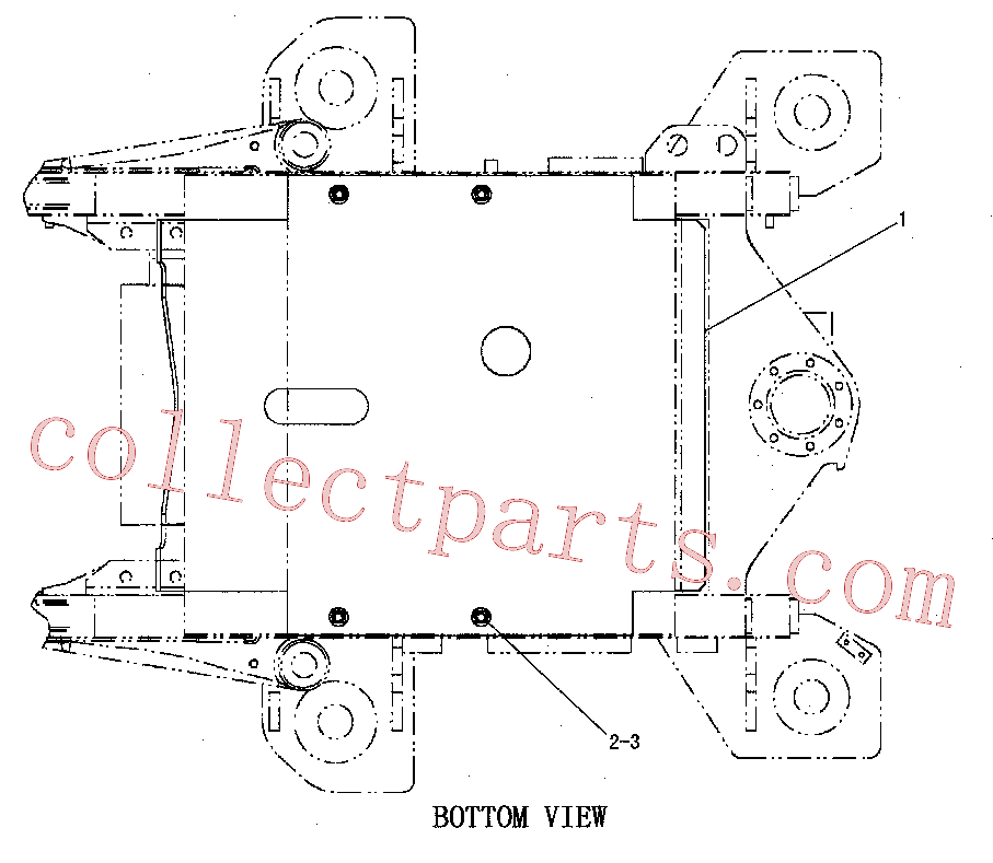 CAT 3E-9411 for 330C Excavator(EXC) power train 126-7710 Assembly