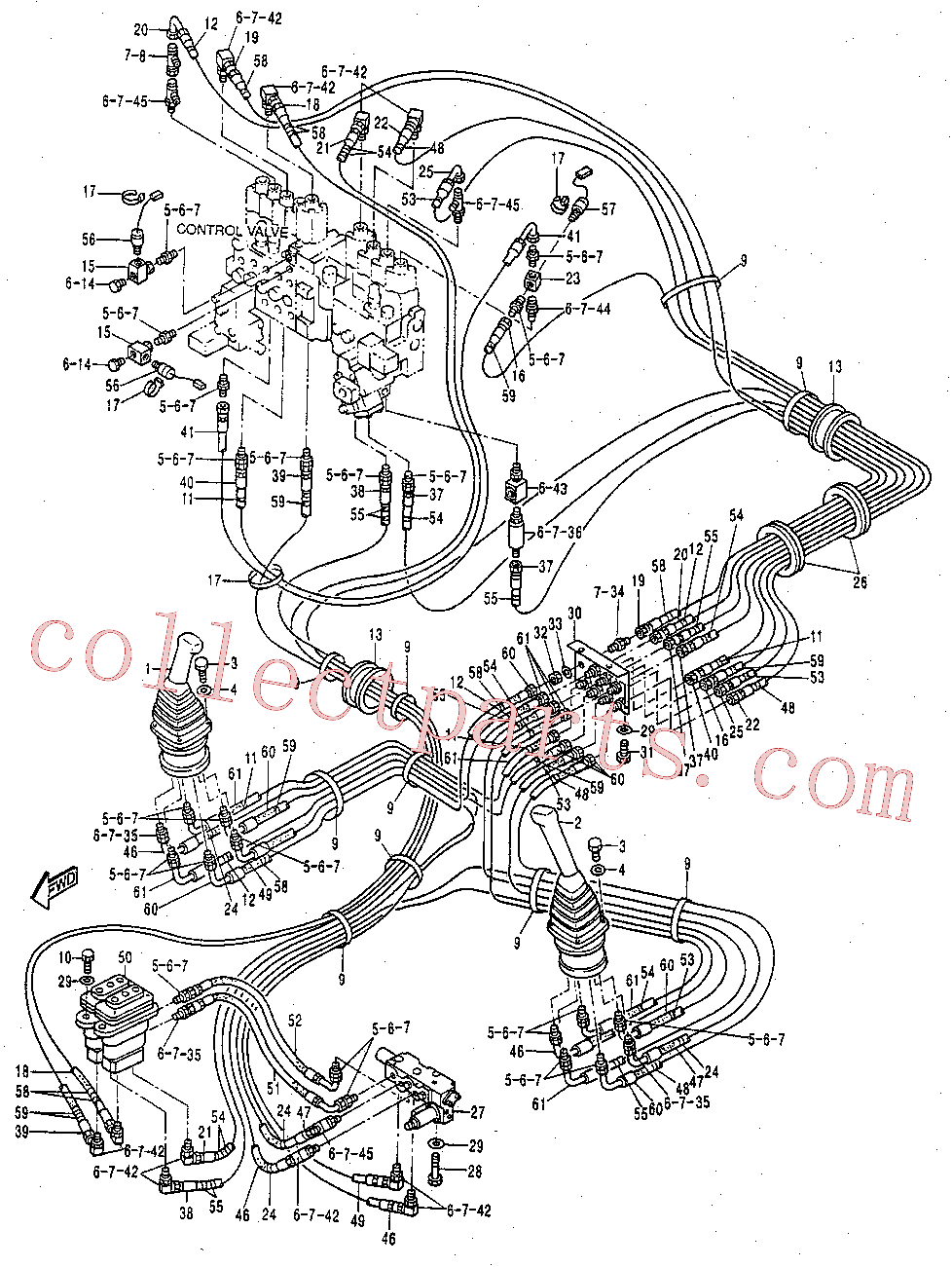 CAT 123-2148 for 320B L Excavator(EXC) hydraulic system 119-2390 Assembly