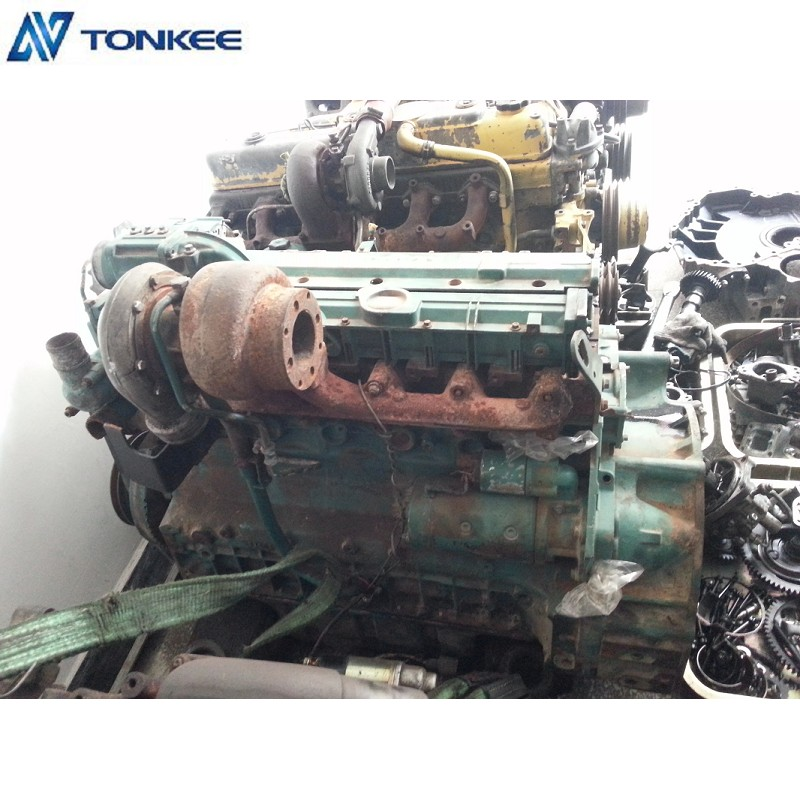 VOLVO Engine ASSY EC210B DEUTZ D6D Complete Engine assy Used Parts