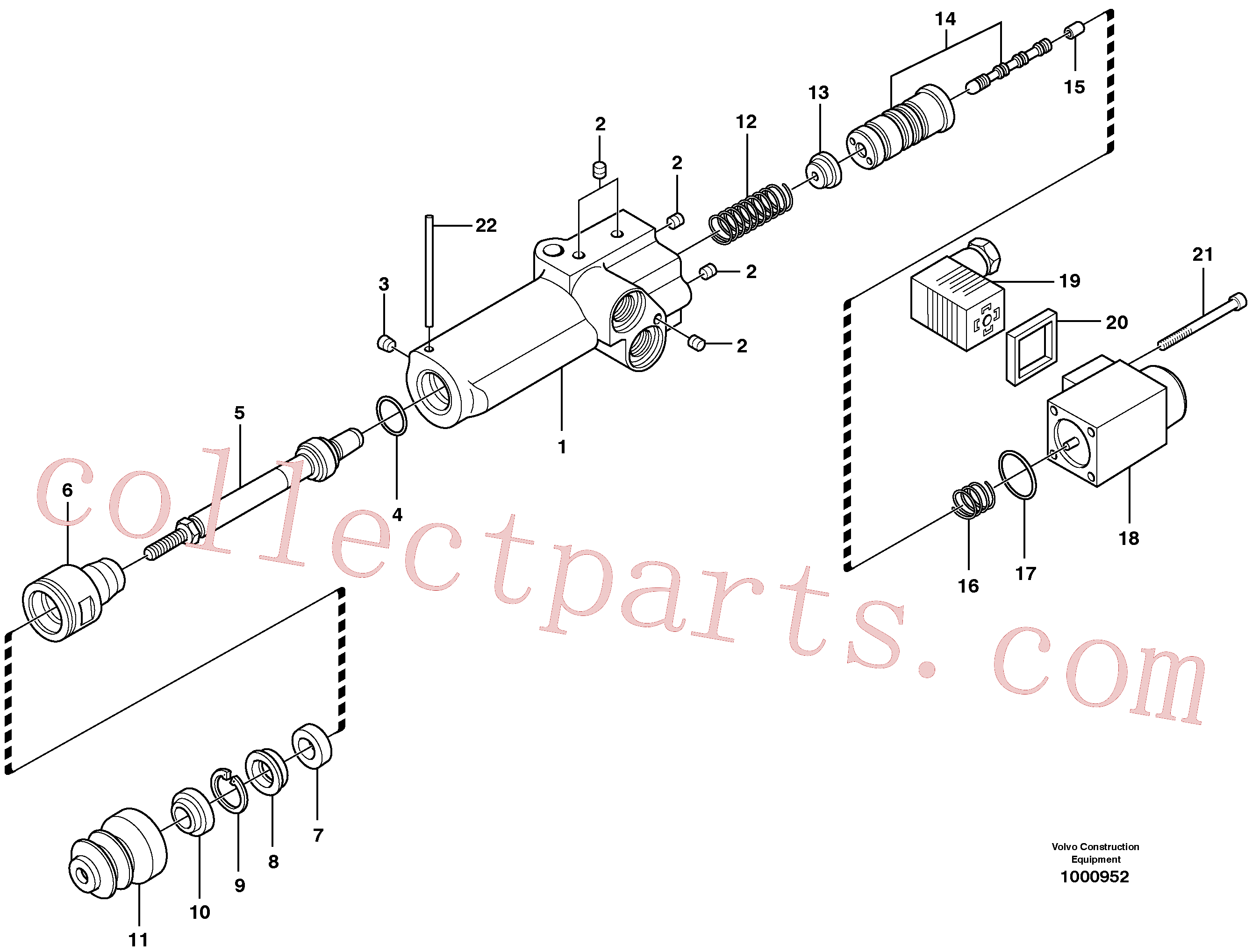 VOE11705605 for Volvo Engine speed control(1000952 assembly)