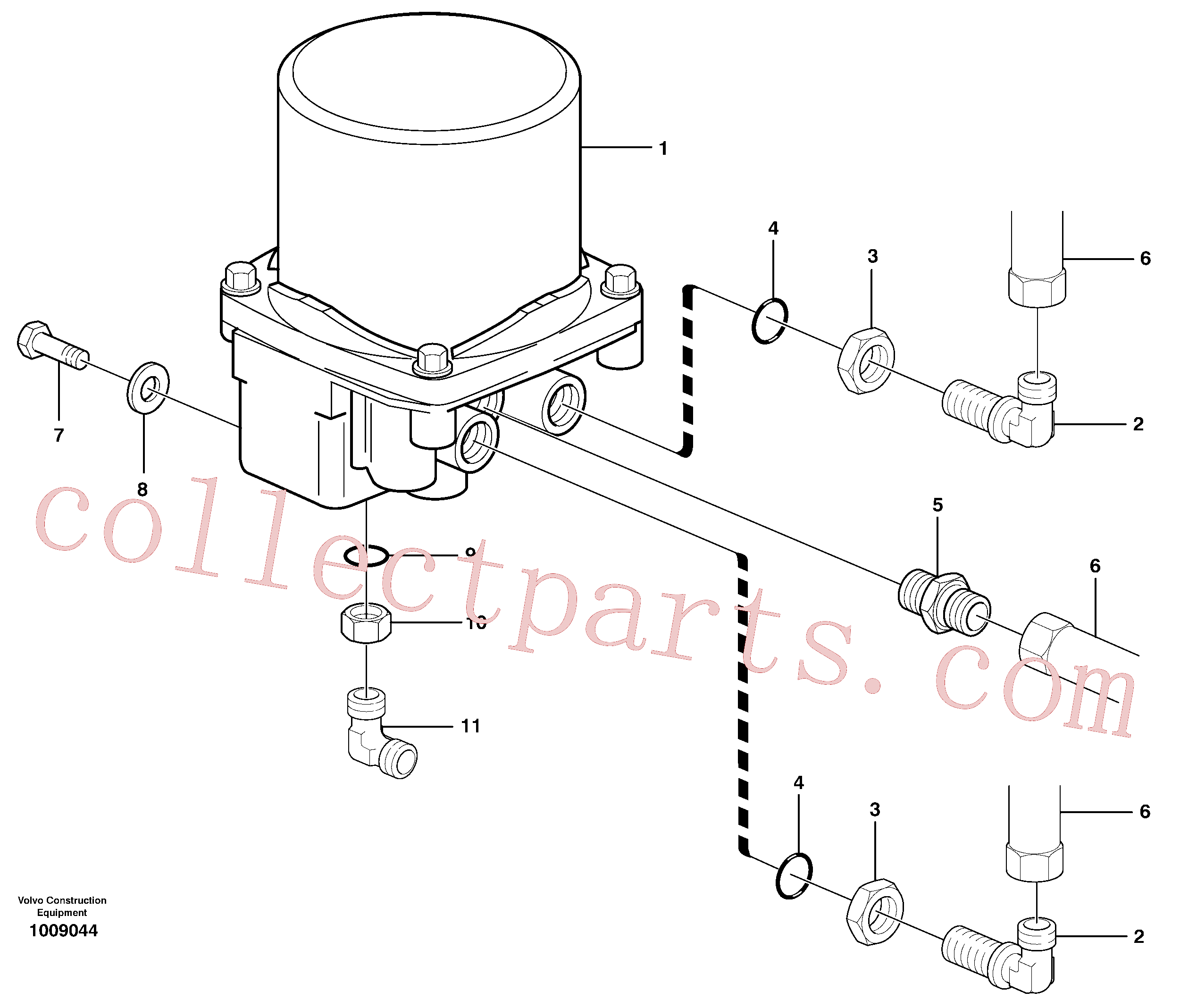 VOE946817 for Volvo Receiver drier(1009044 assembly)