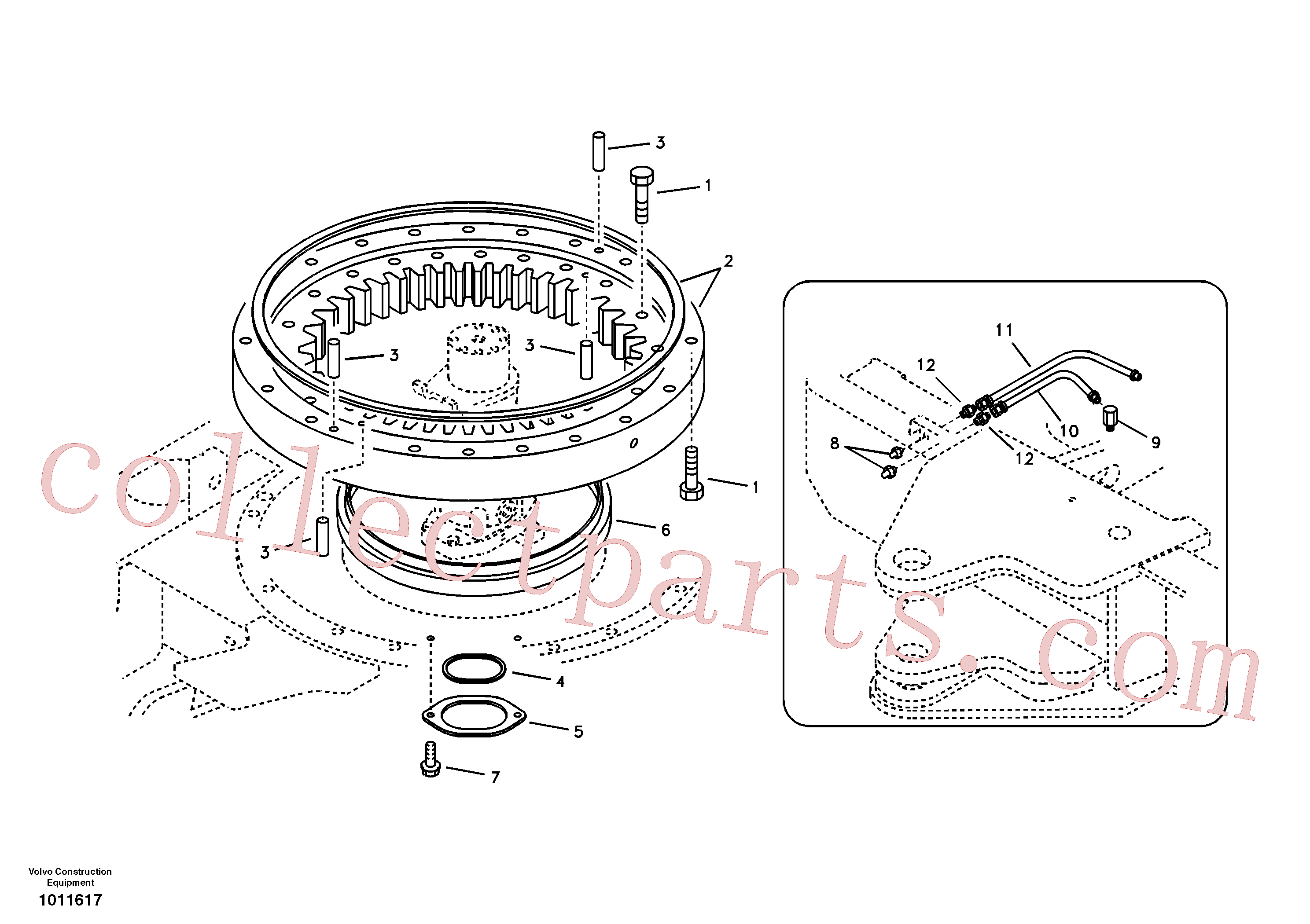 Volvo Assembly VOE14882747 Hose assembly for sale