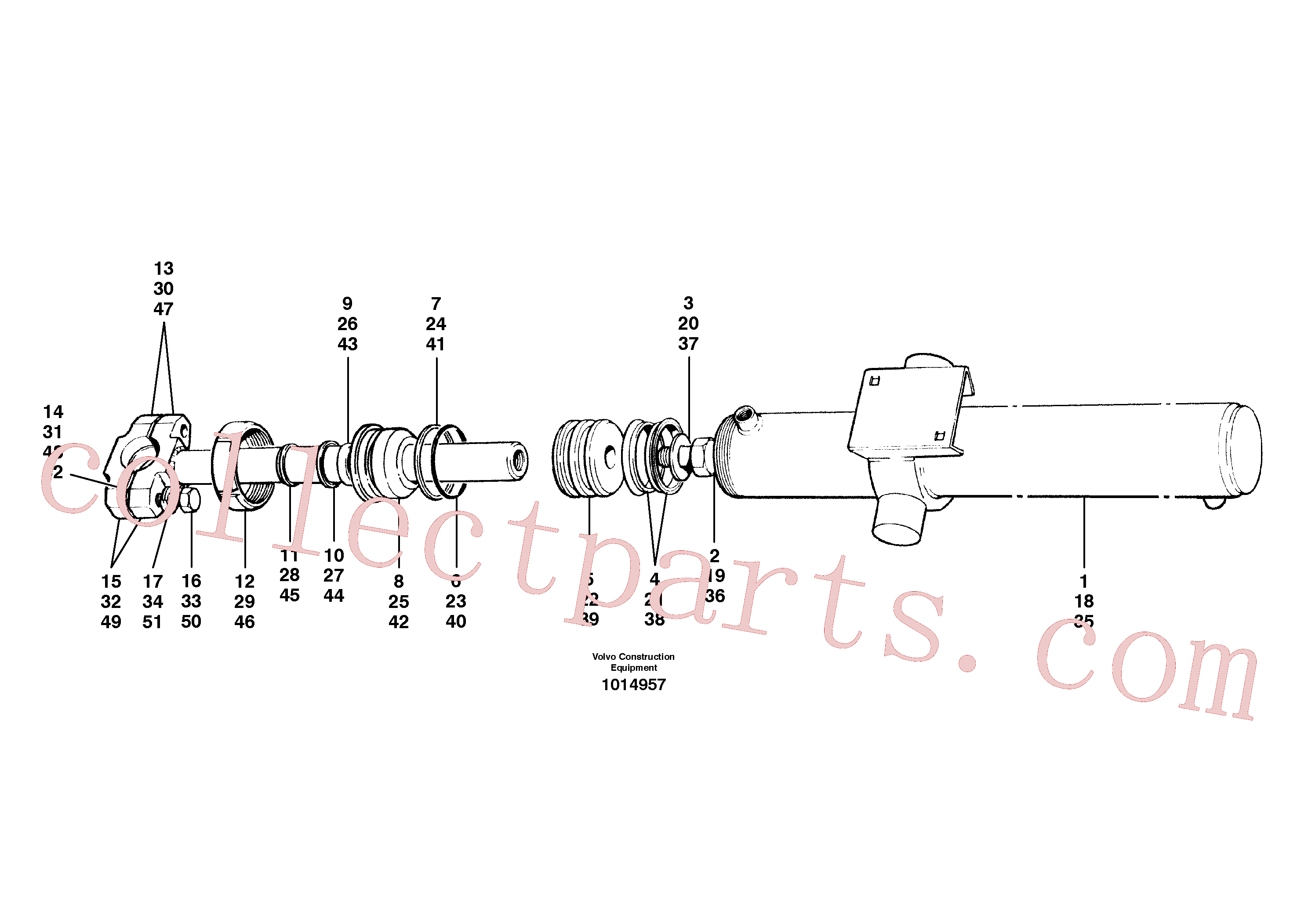 CH59945 for Volvo Blade lift cylinders(1014957 assembly)