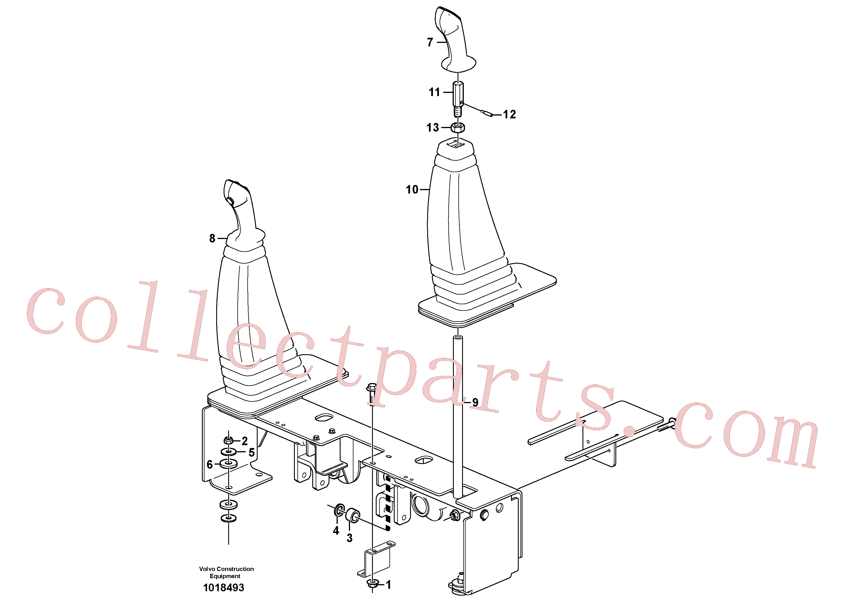VOE11851823 for Volvo Optional hand controls(1018493 assembly)