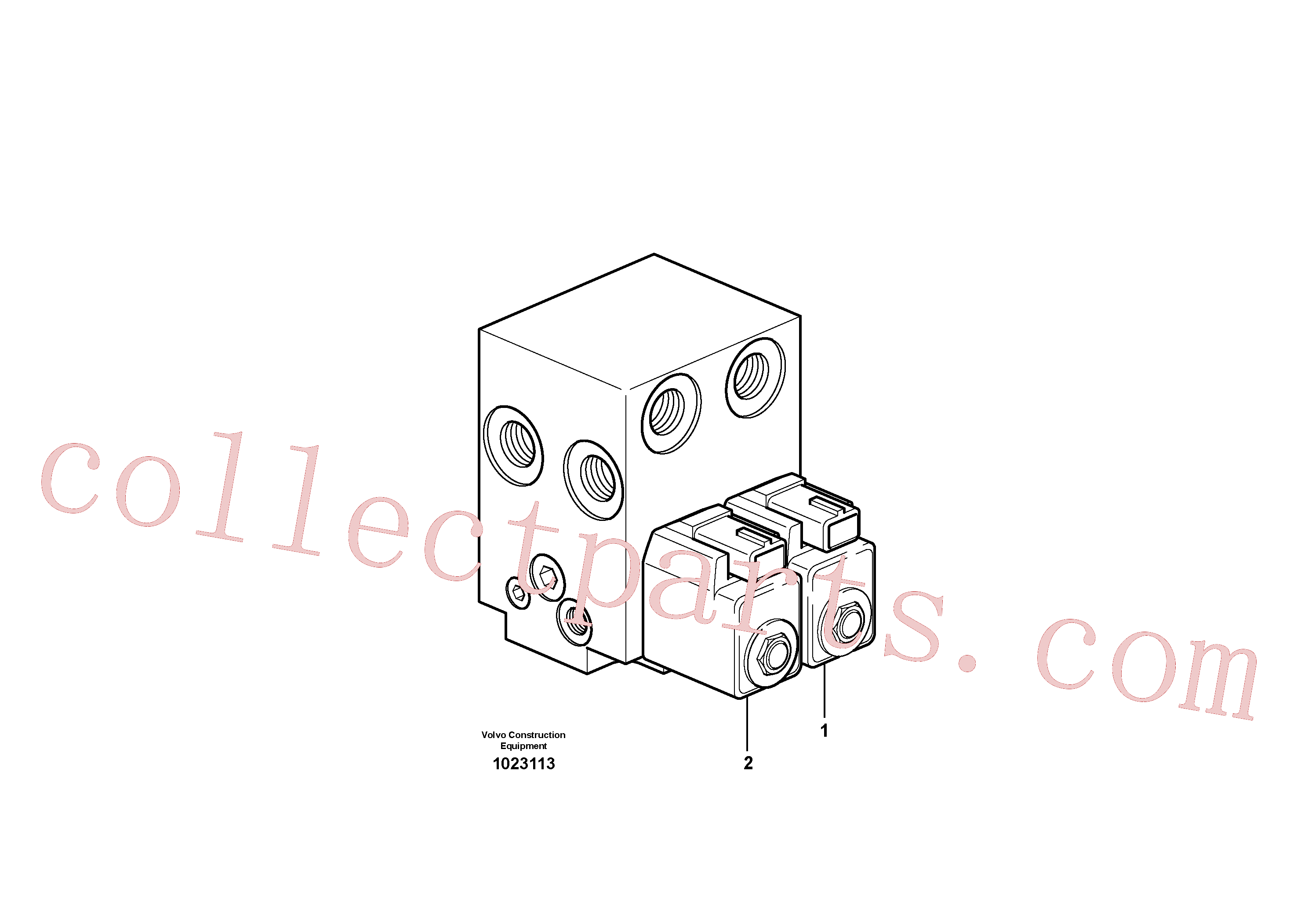 VOE11714323 for Volvo Valve(1023113 assembly)