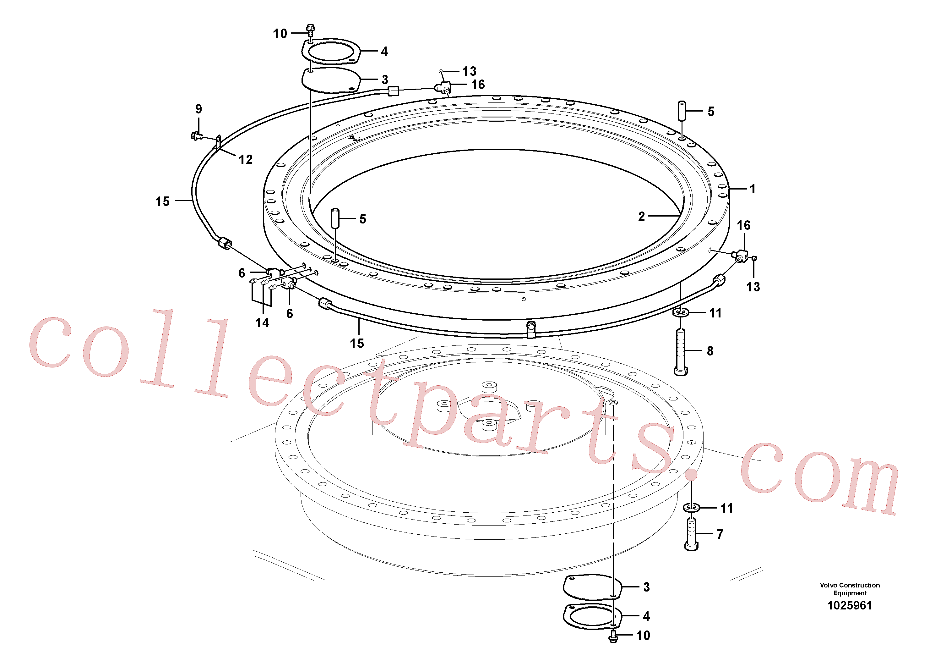 VOE14579588 for Volvo Swing system(1025961 assembly)
