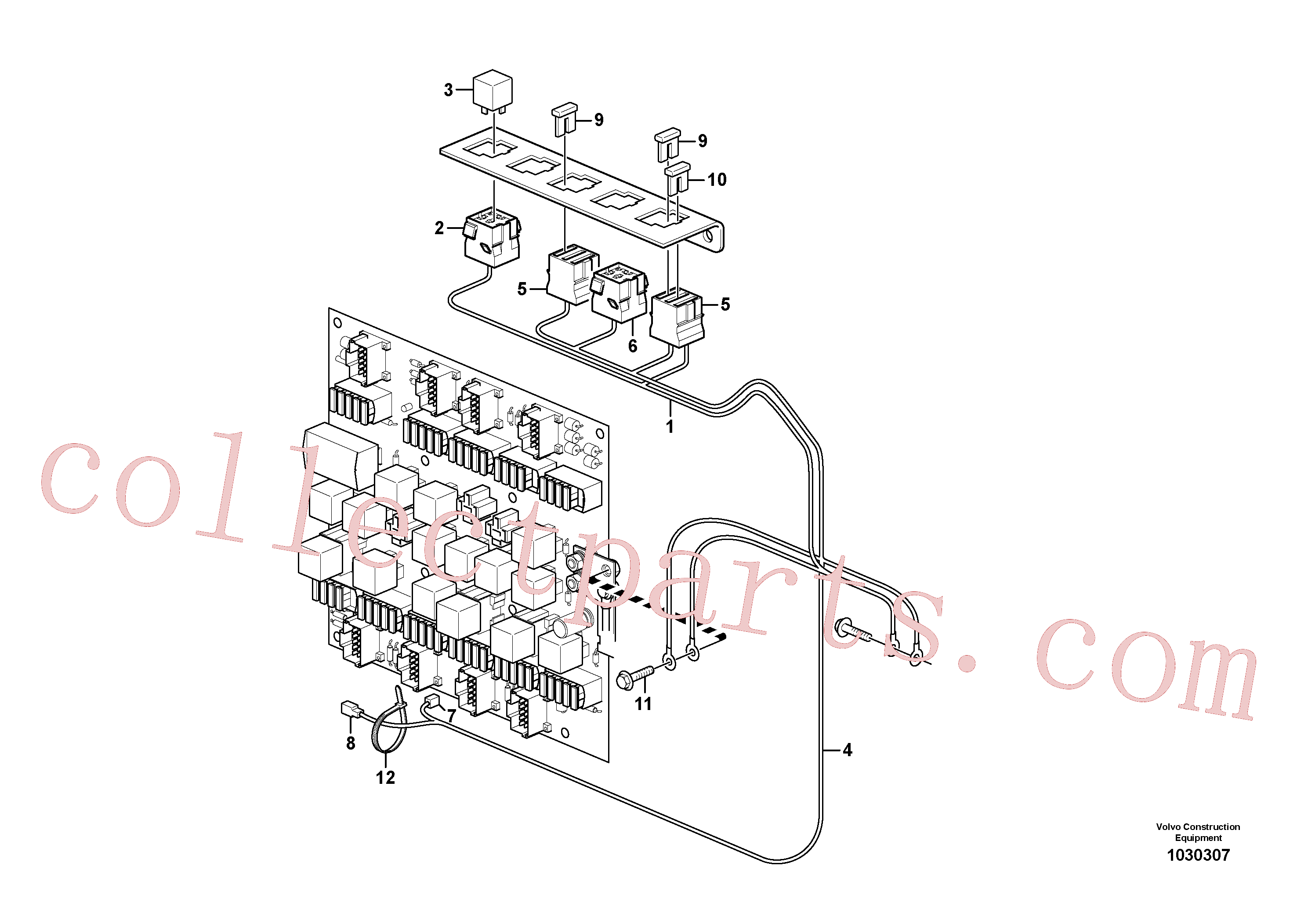 VOE969162 for Volvo Cable harness, heating fuel filter(1030307 assembly)