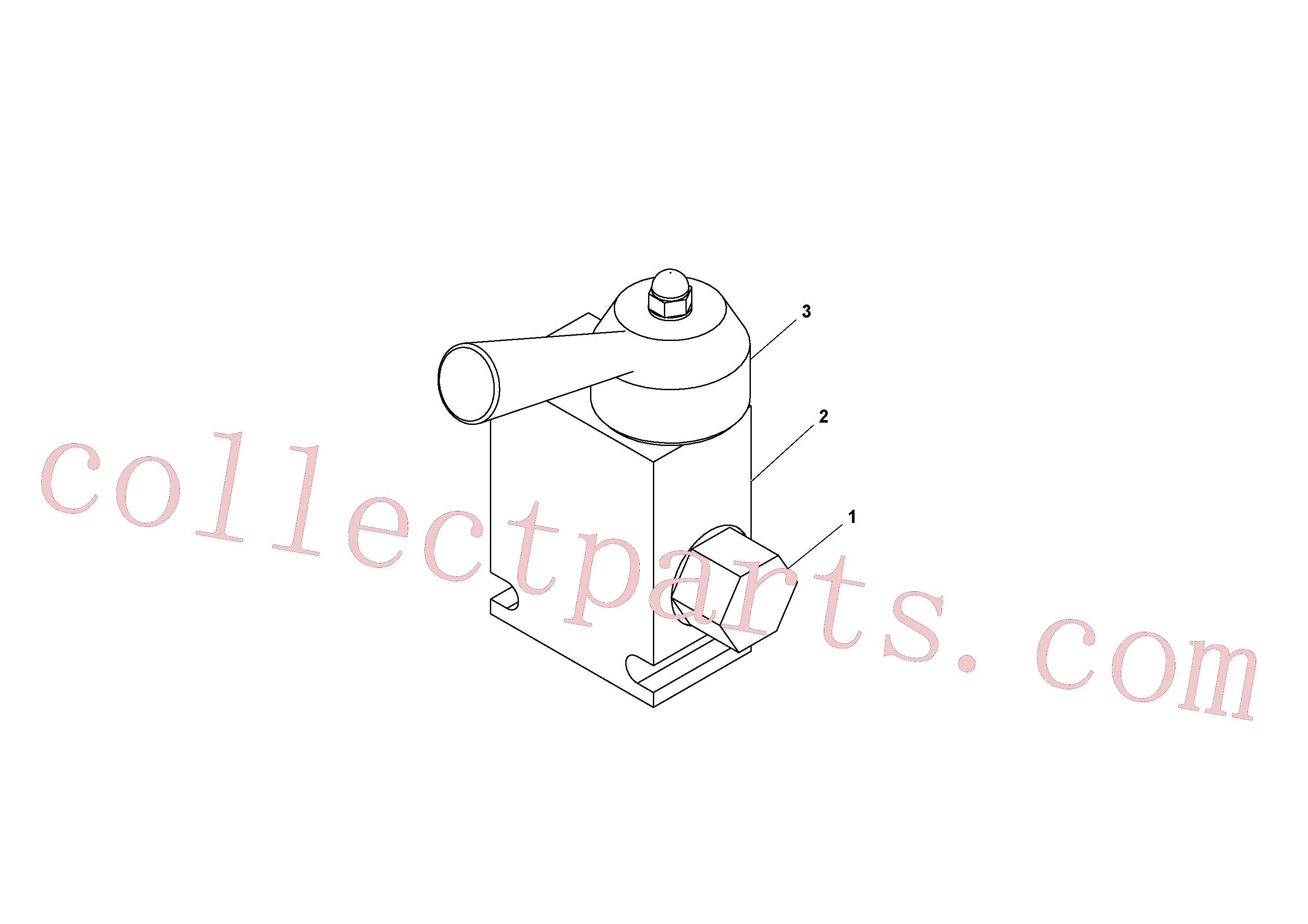 RM13396239 for Volvo Flow control valve(1036837 assembly)