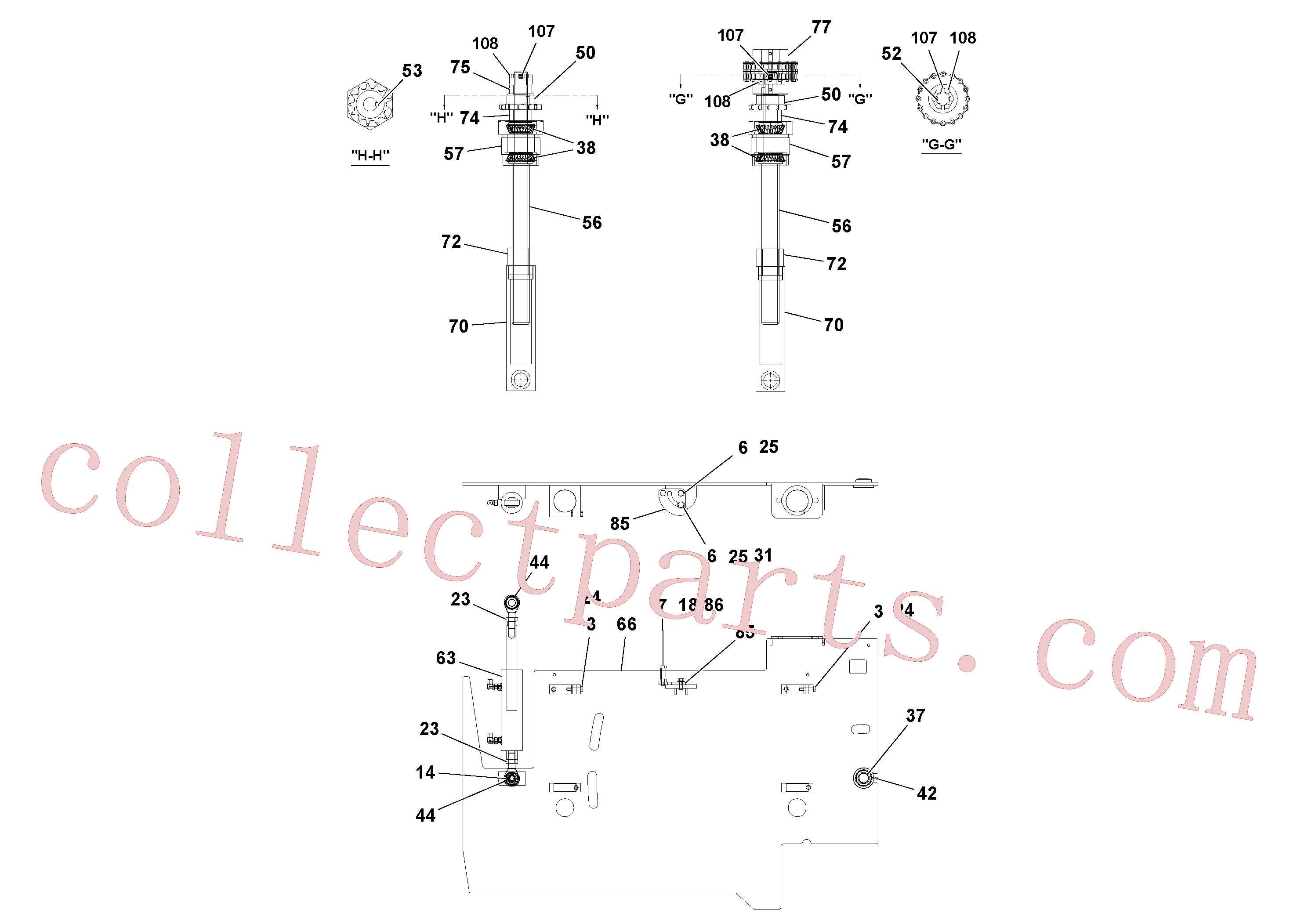RM20320727 for Volvo 4' Extension Assembly(1036870 assembly)