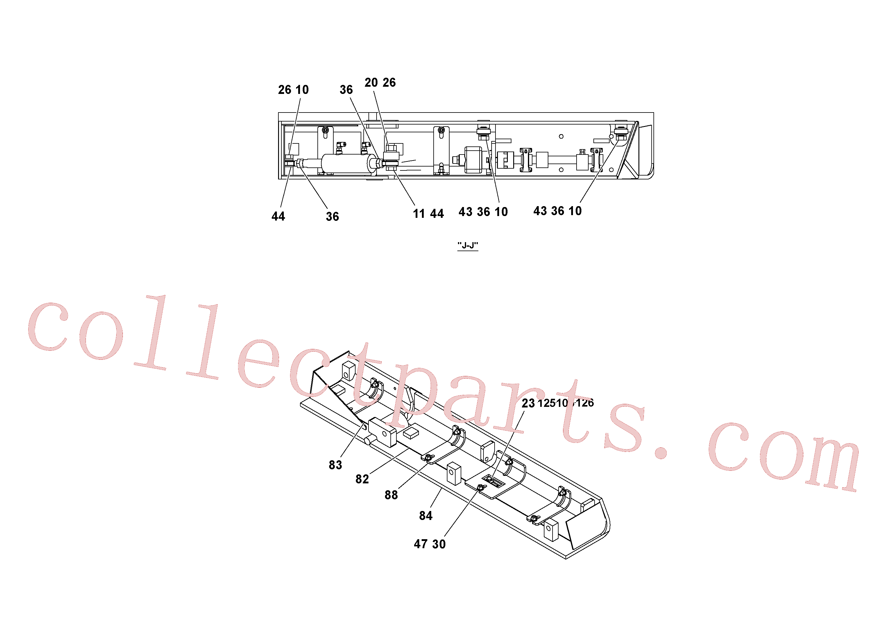 RM20203147 for Volvo 4' Extension Assembly(1036879 assembly)