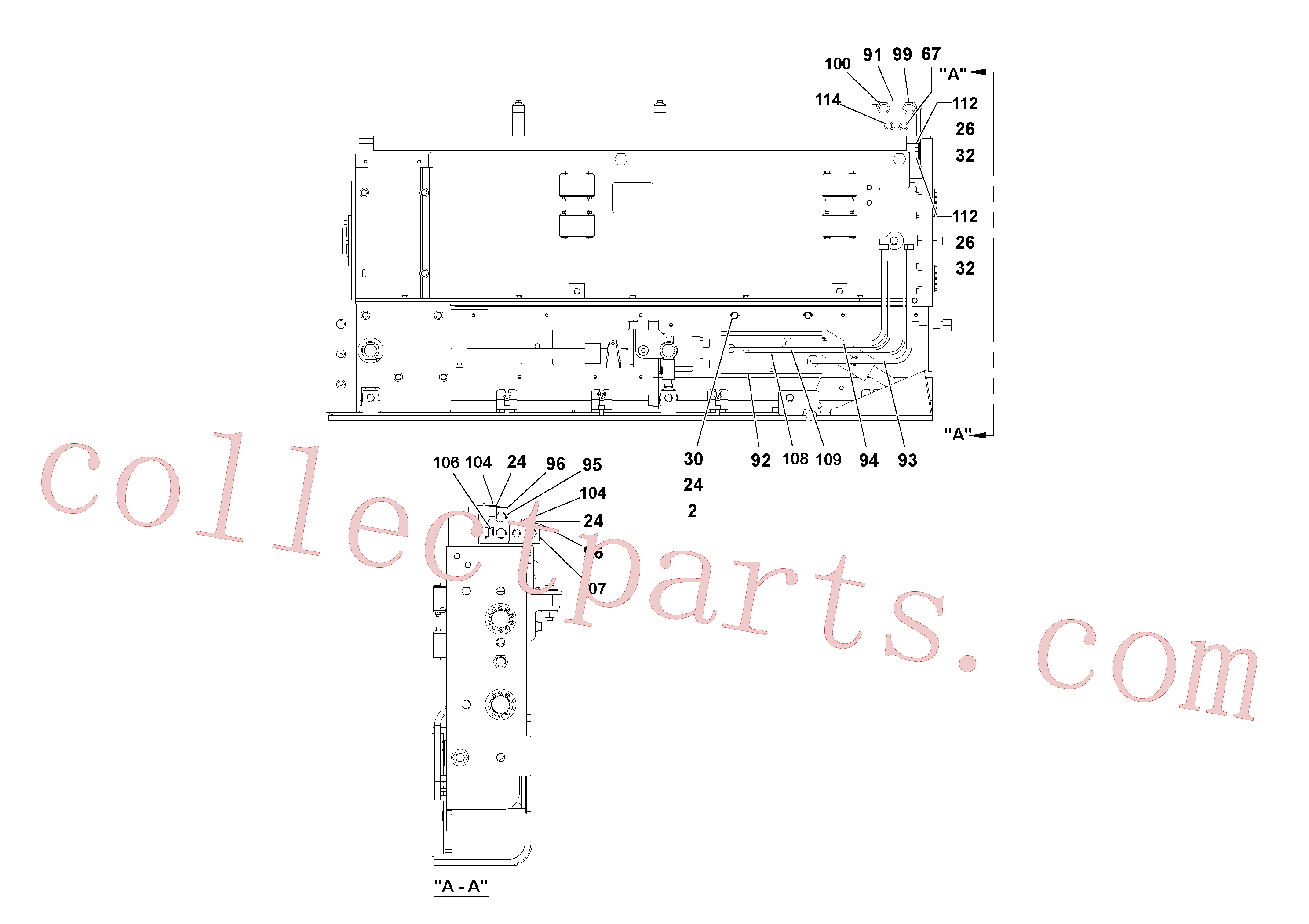 RM20200531 for Volvo 5' Extension Assembly(1036974 assembly)