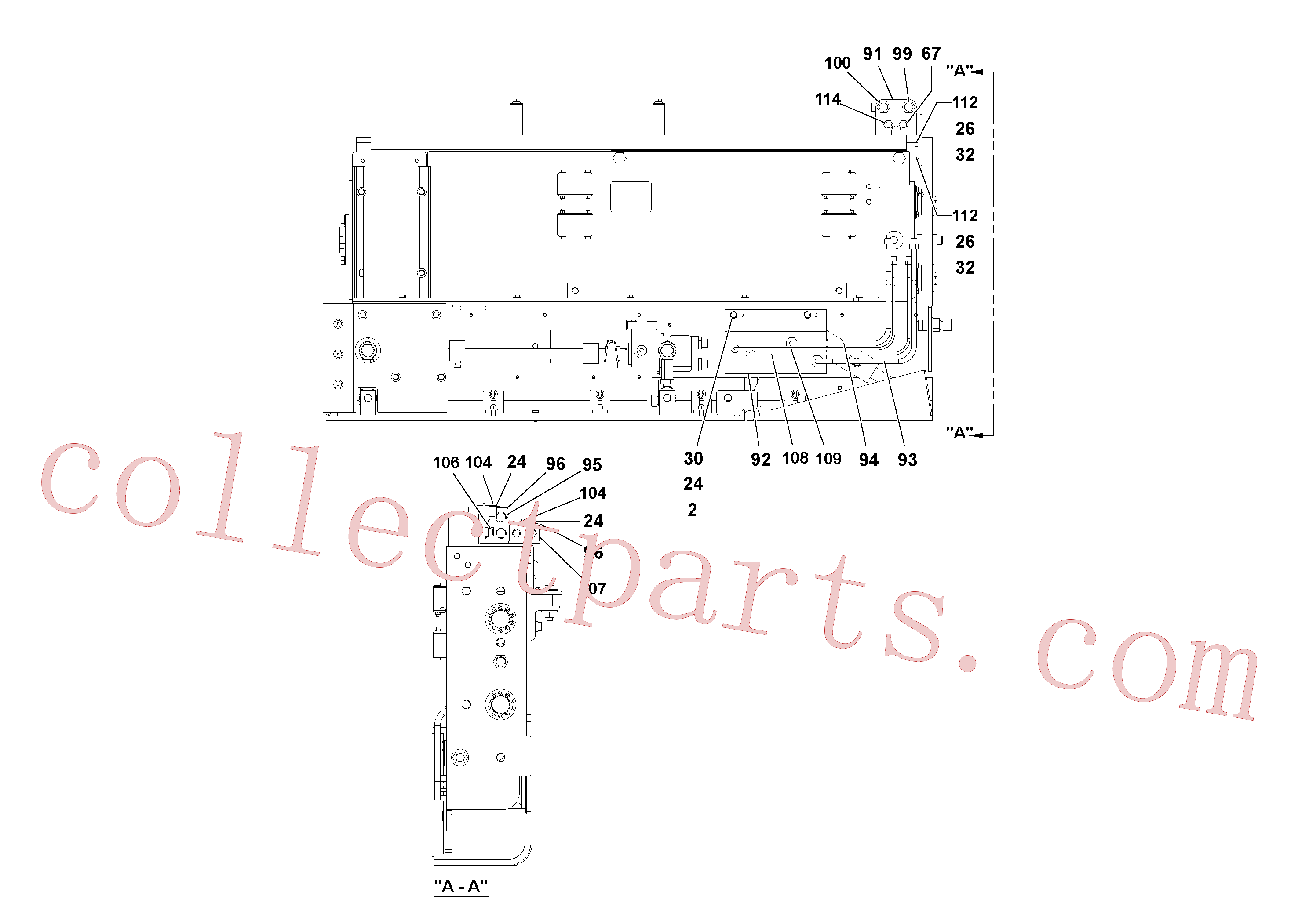 VOE13933866 for Volvo 5' Extension Assembly(1036988 assembly)