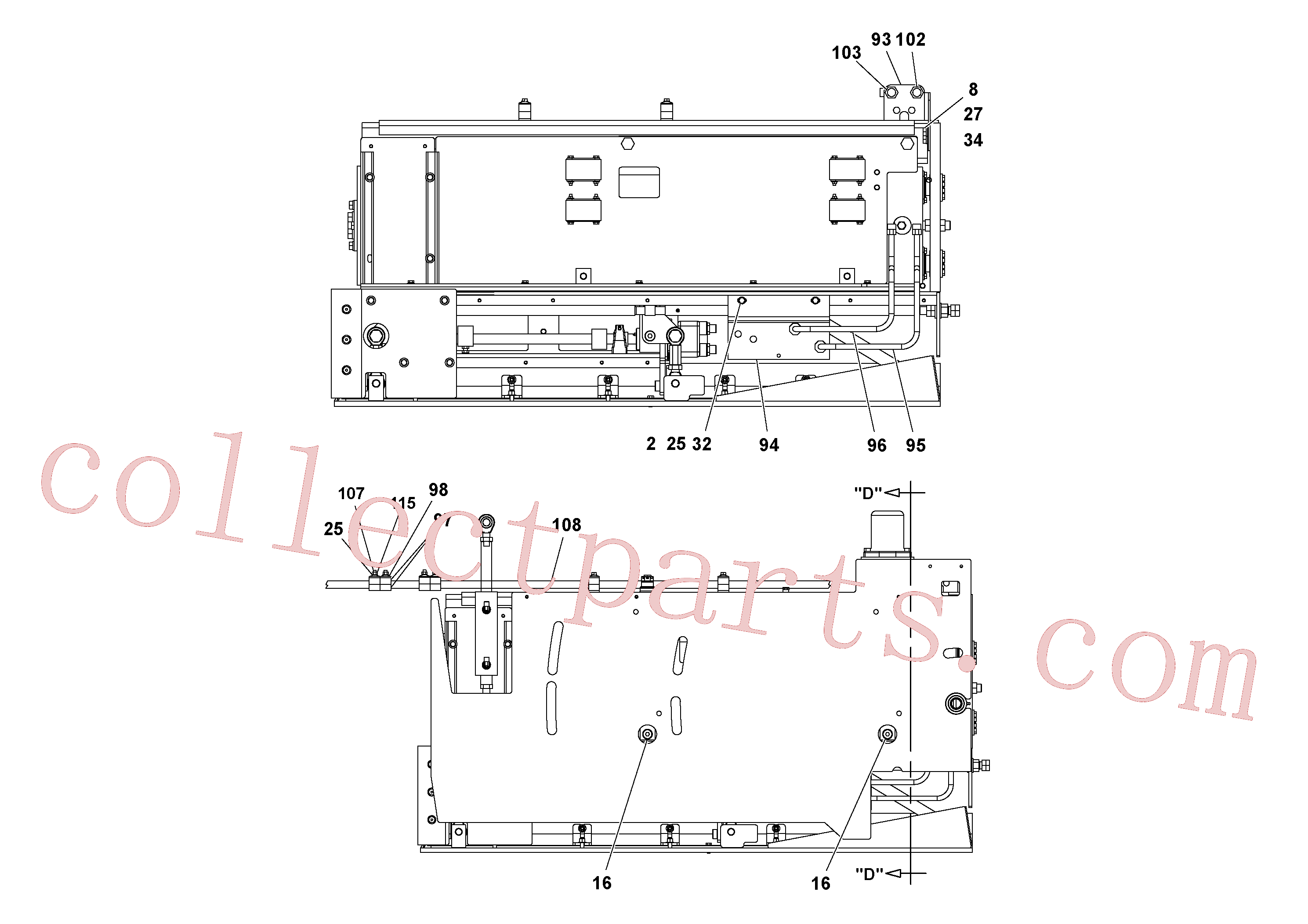 VOE13933866 for Volvo 5' Extension Asssembly(1037003 assembly)