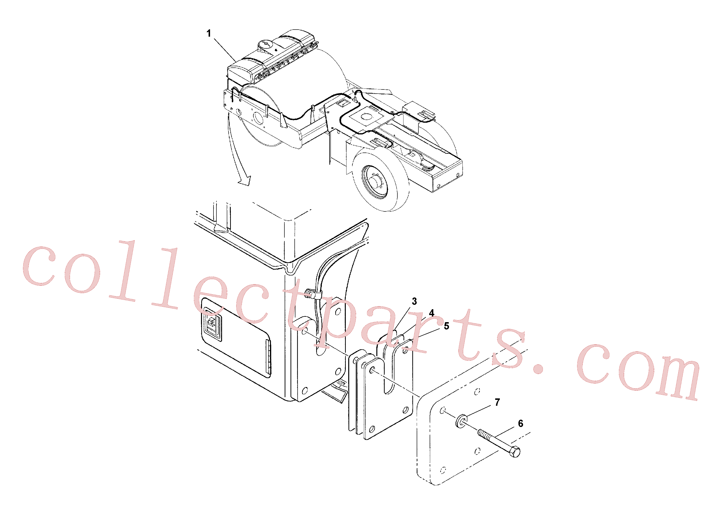 RM96738646 for Volvo Water System Installation(1038346 assembly)