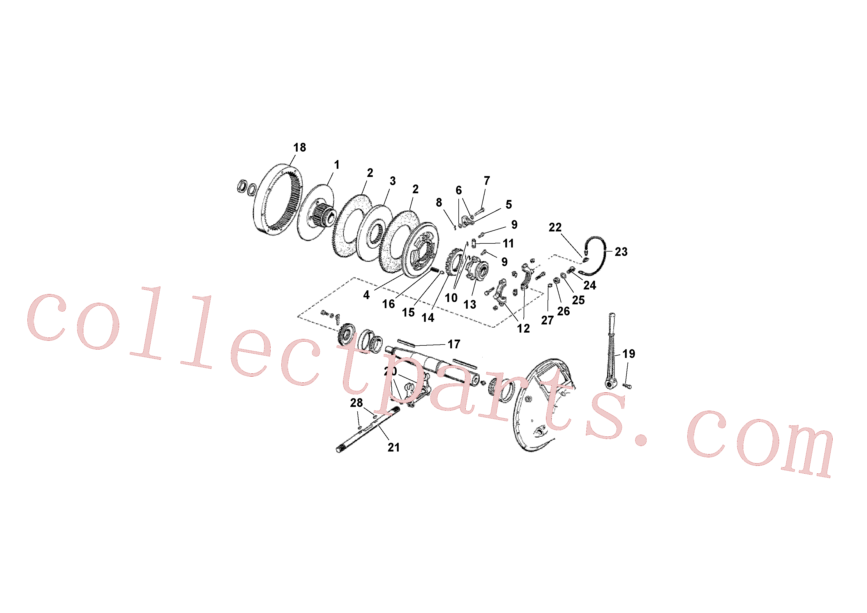 RM13781026 for Volvo Clutch Kit(1038428 assembly)