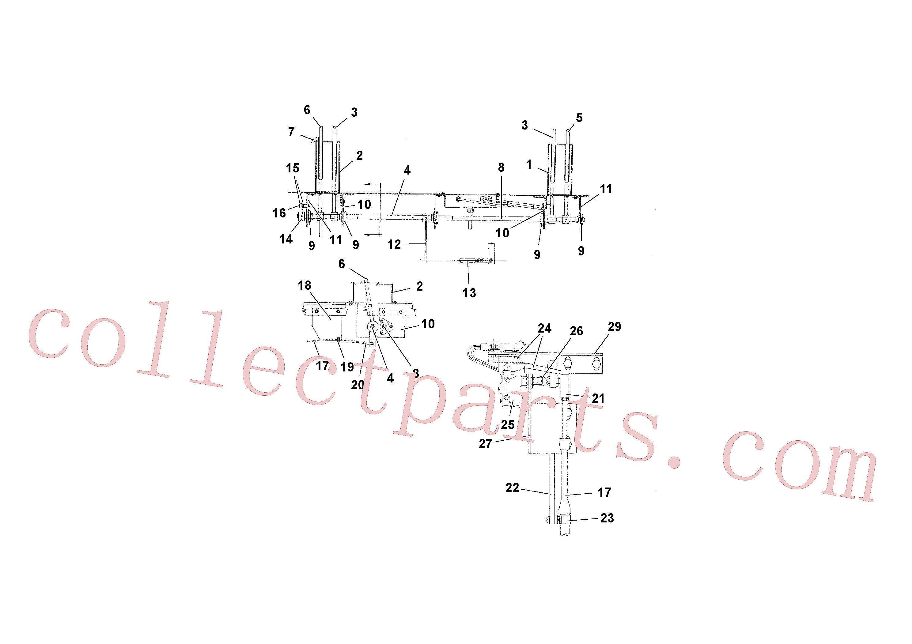 RM15517279 for Volvo Travel and Conveyor Controls(1039296 assembly)