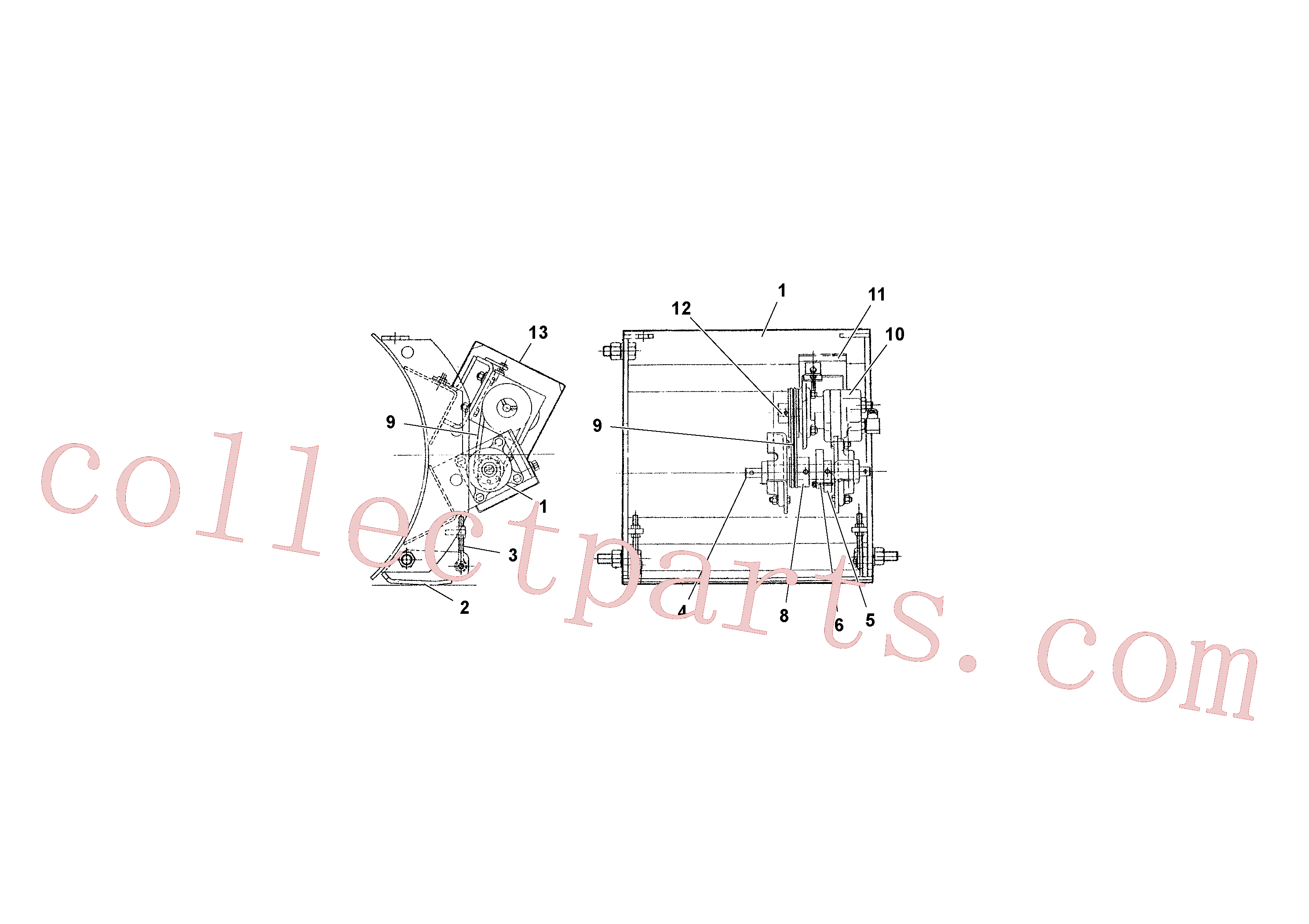 RM95934659 for Volvo 2' Strike-off(1039312 assembly)