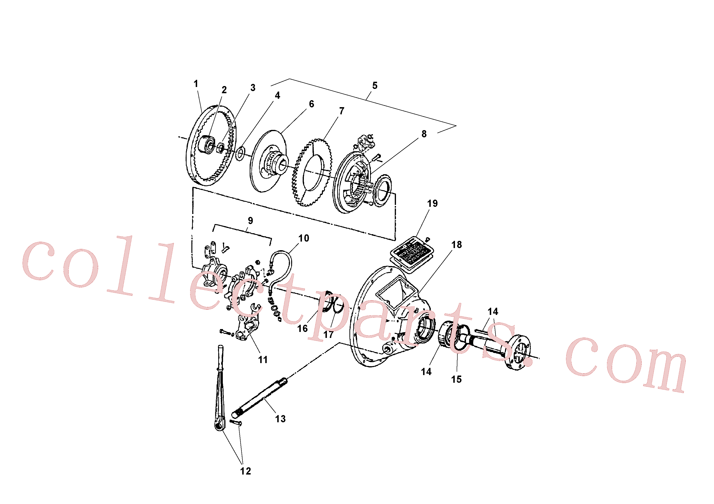 RM13781026 for Volvo Power take-off(1041100 assembly)