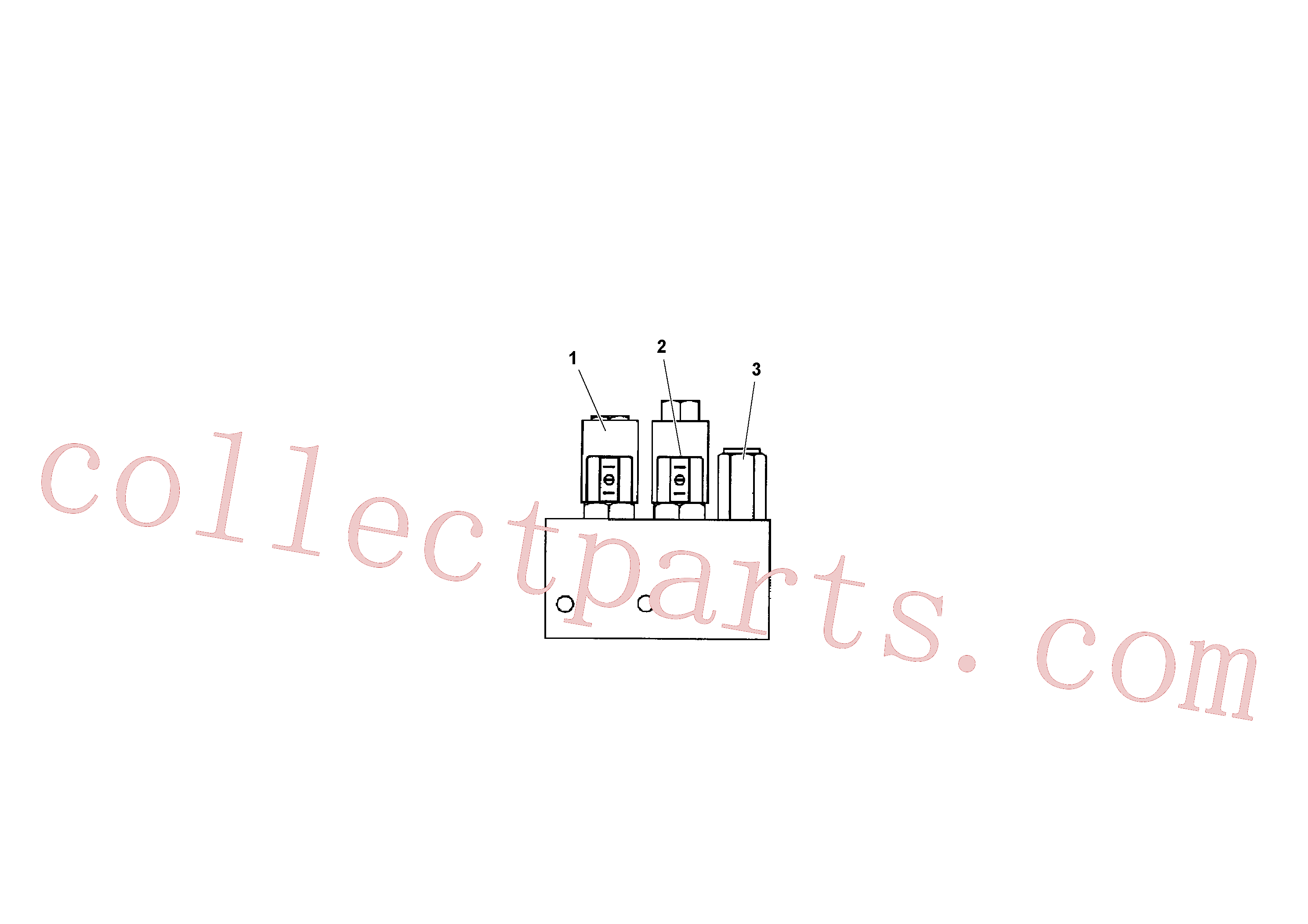 RM20176715 for Volvo Mixer/agitator Control Valve(1041202 assembly)