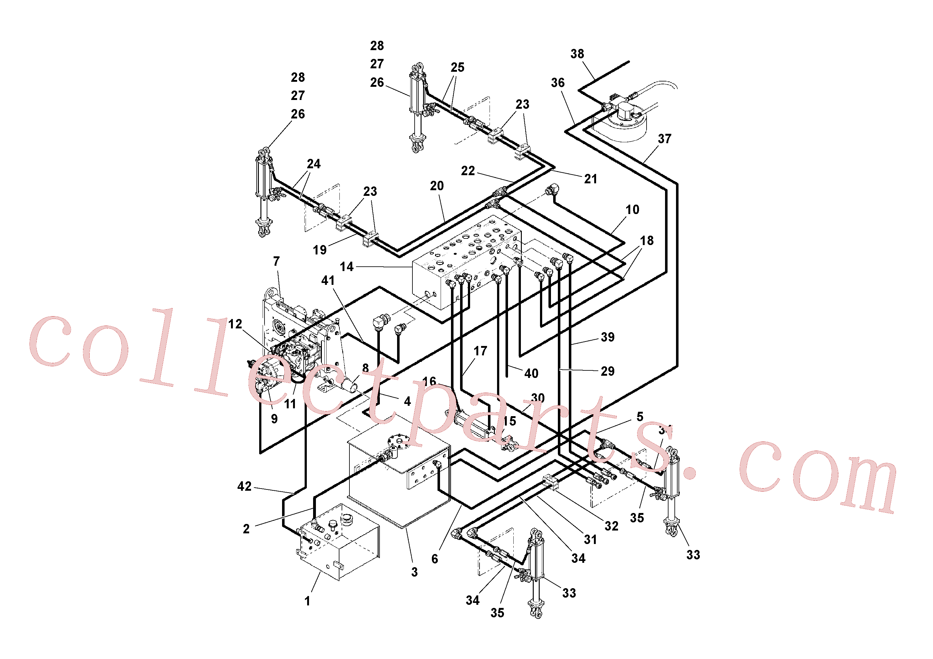 RM20200531 for Volvo General Purpose Hydraulic System(1041359 assembly)