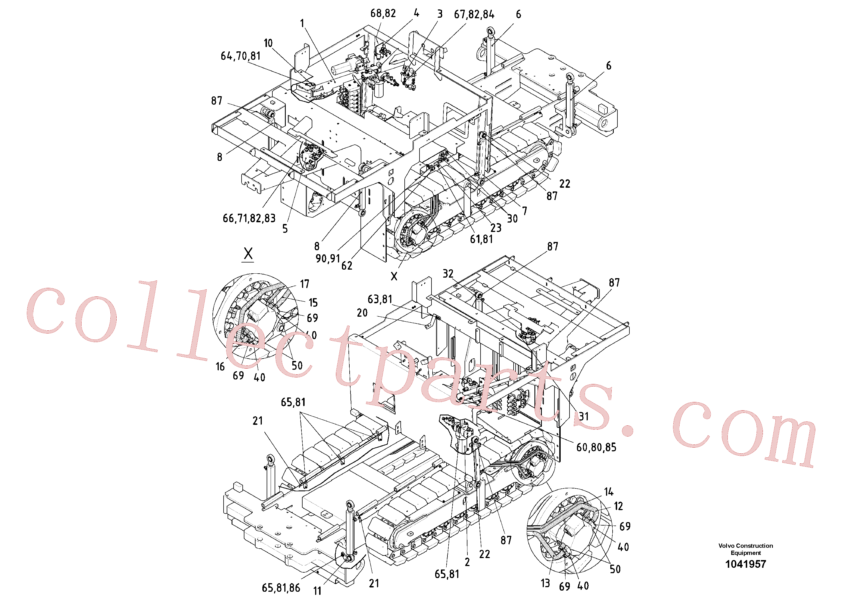 RM54699962 for Volvo Valve And Cylinder(1041957 assembly)