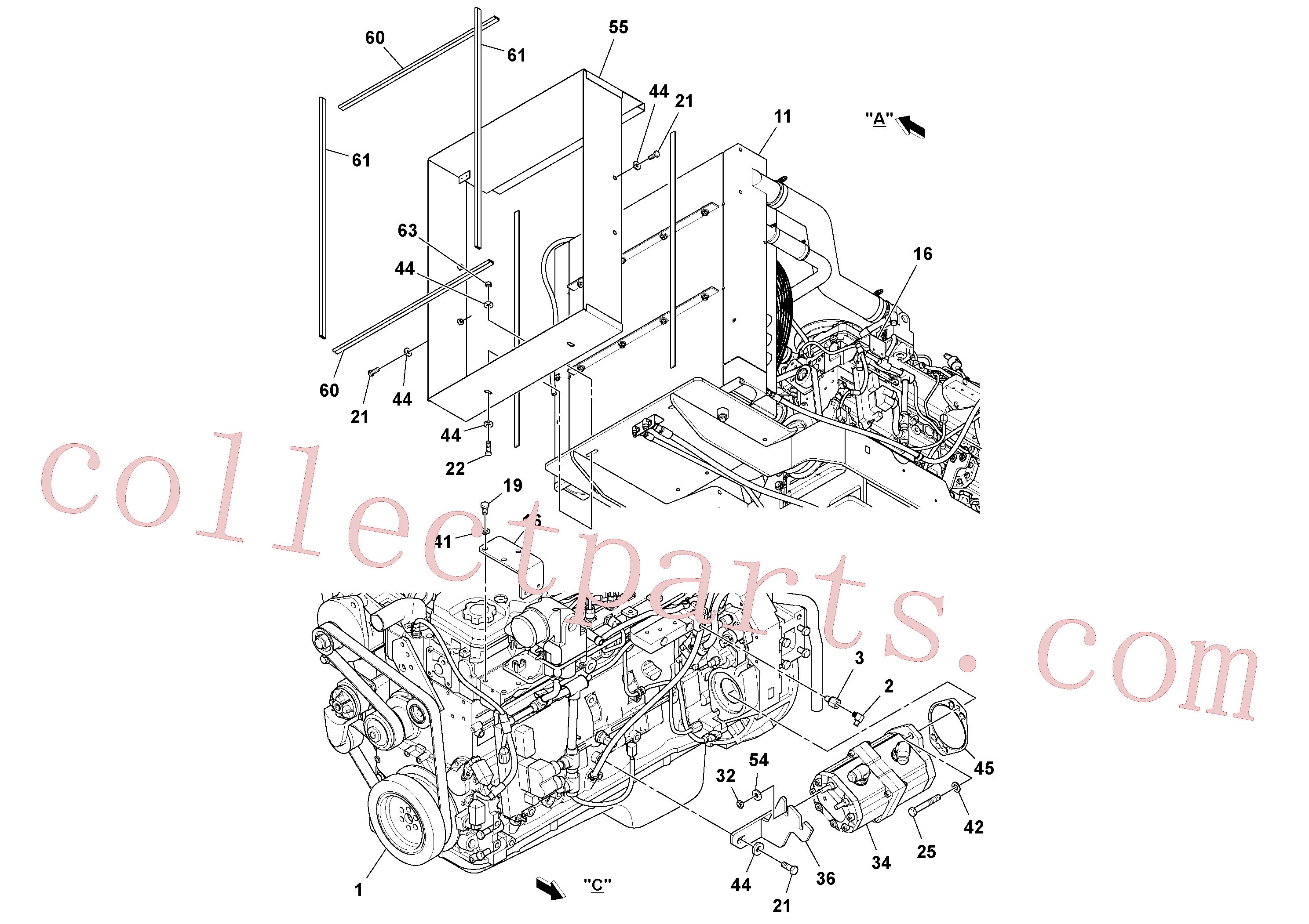RM14083349 for Volvo Engine assembly(1044042 assembly)