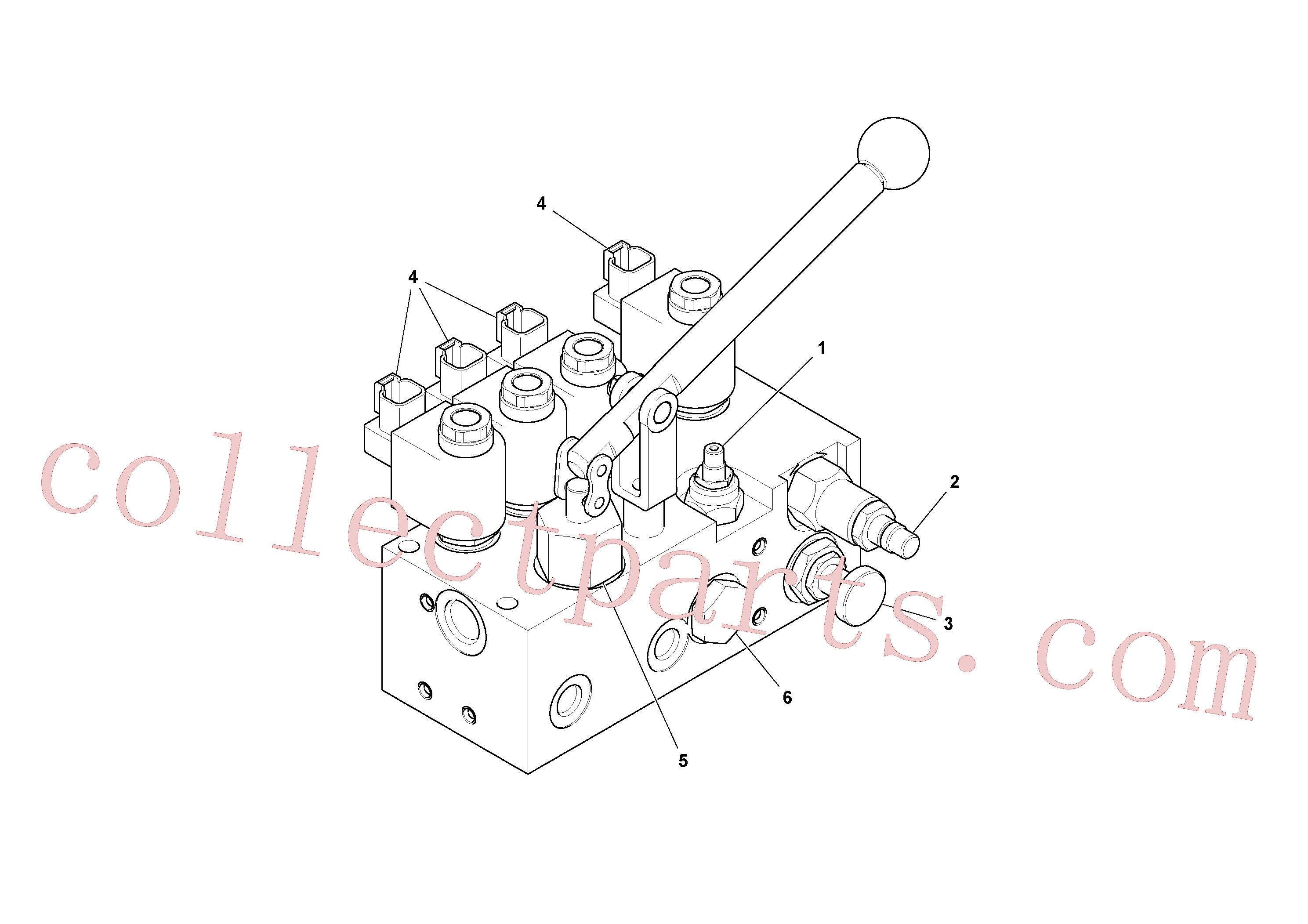 VOE17218557 for Volvo Valve(1044379 assembly)