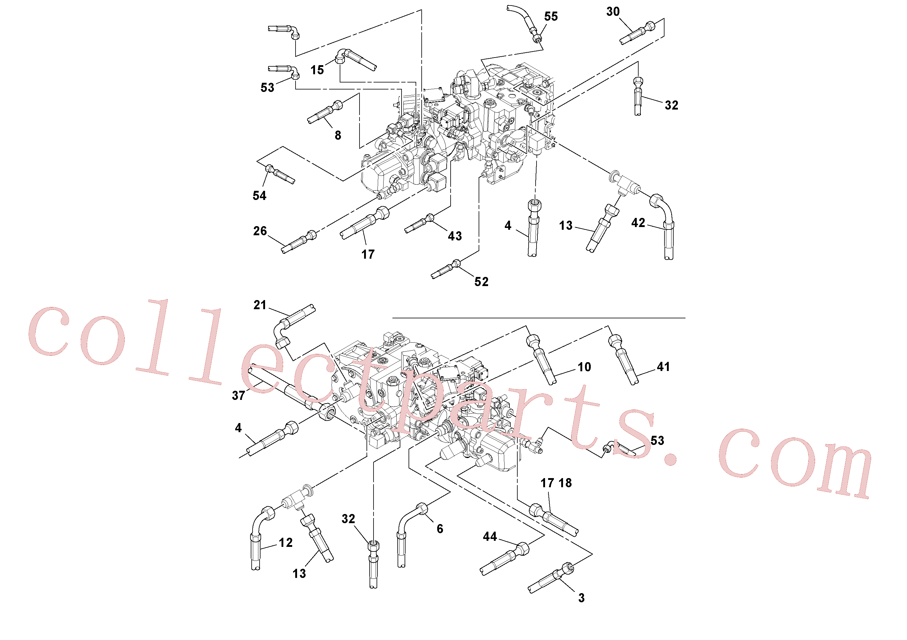 RM13319355 for Volvo Hoses Installation(1045243 assembly)