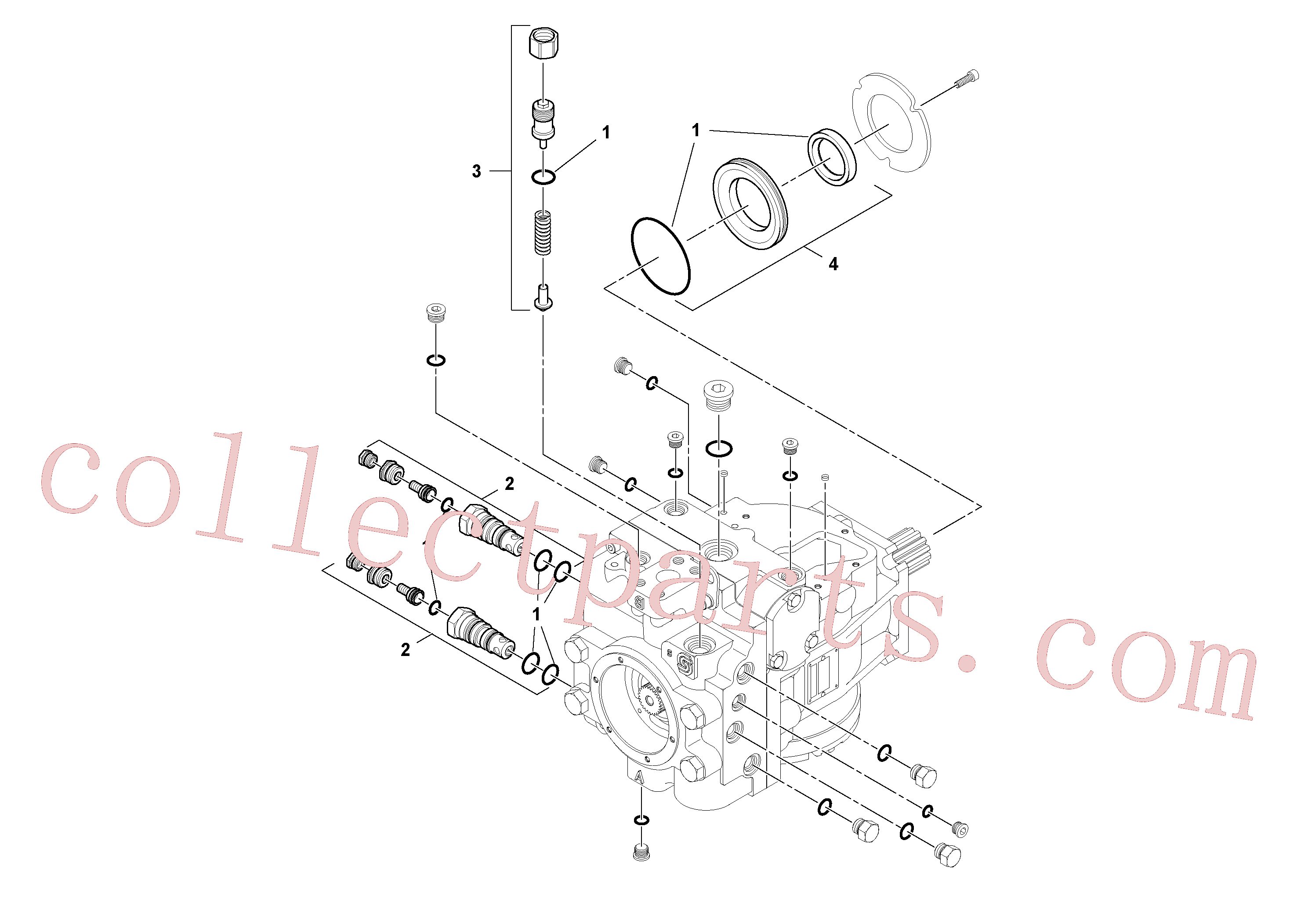RM59933622 for Volvo Propulsion Pump(1045417 assembly)