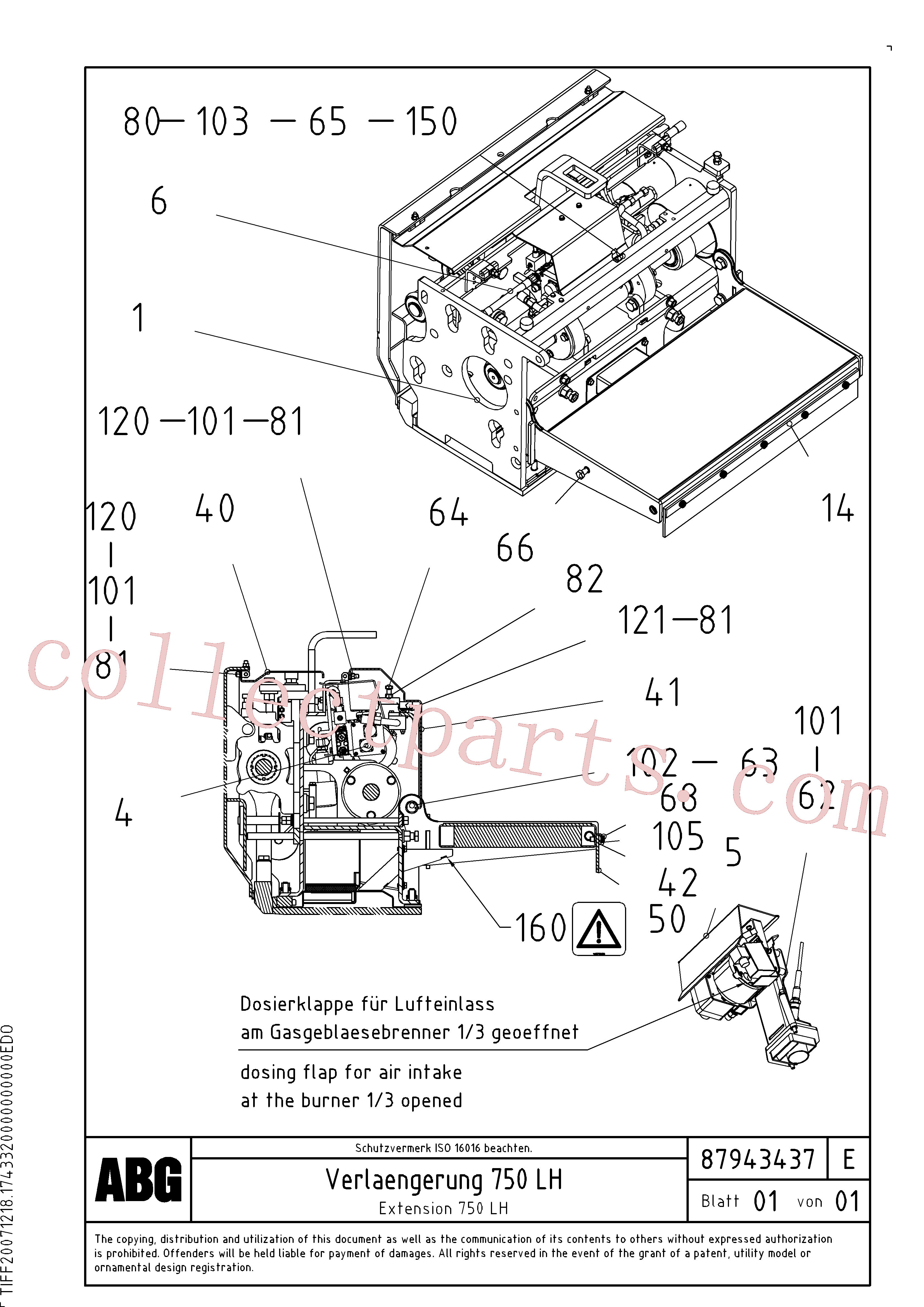 RM80765019 for Volvo Extension set(1047981 assembly)