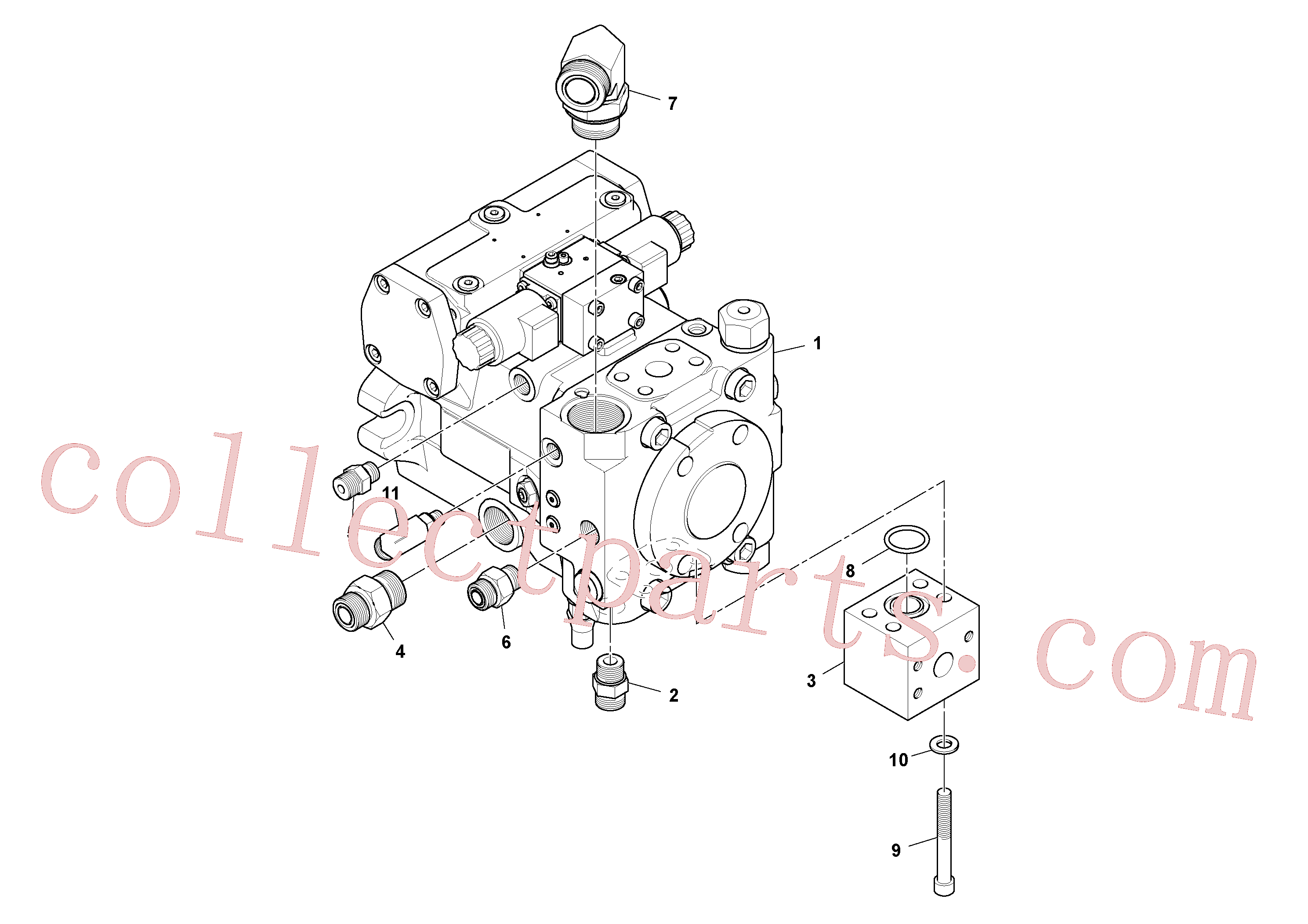 RM95068235 for Volvo Propulsion Pump Assembly(1048407 assembly)