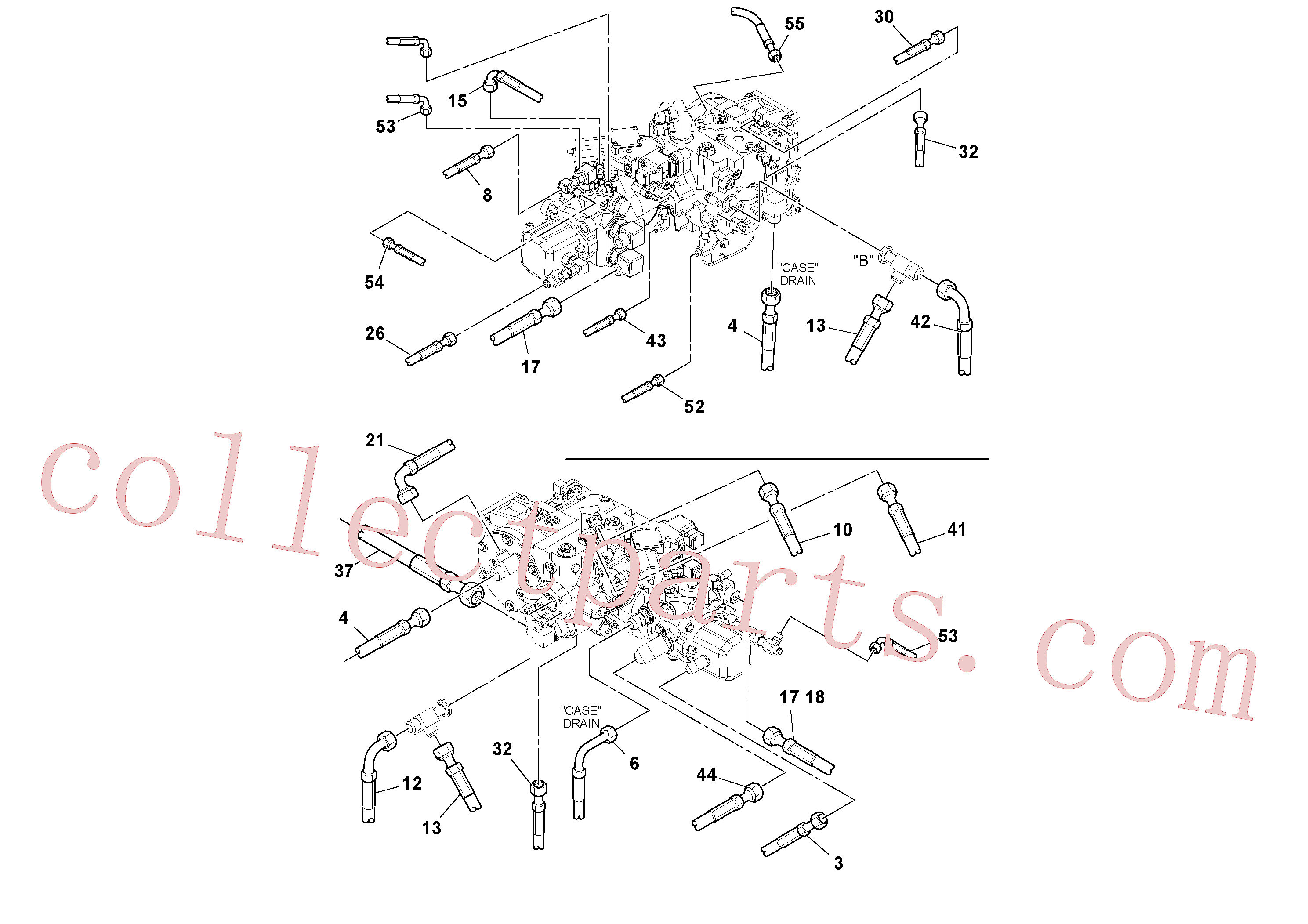 RM13319355 for Volvo Hoses Installation(1048984 assembly)