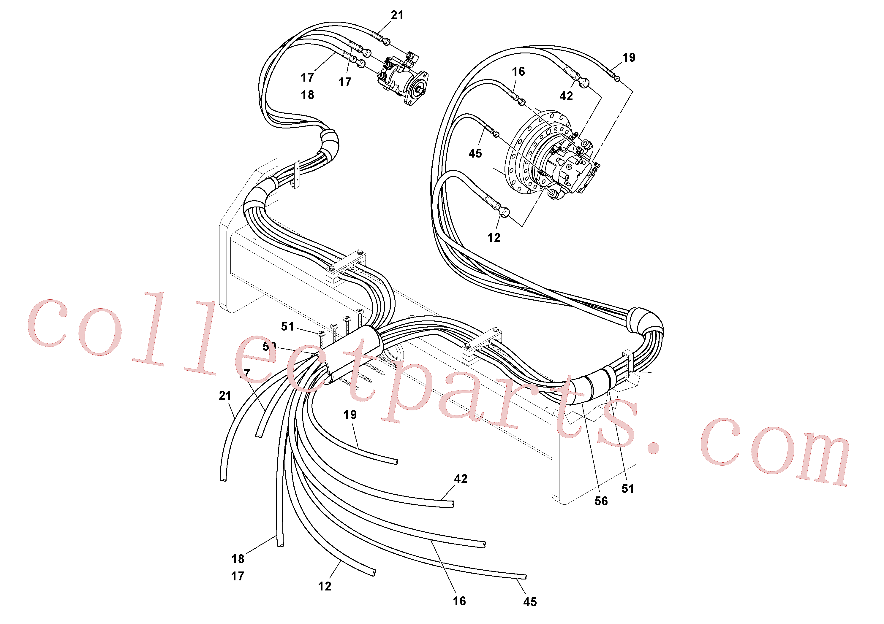 RM13319355 for Volvo Hoses Installation(1048985 assembly)