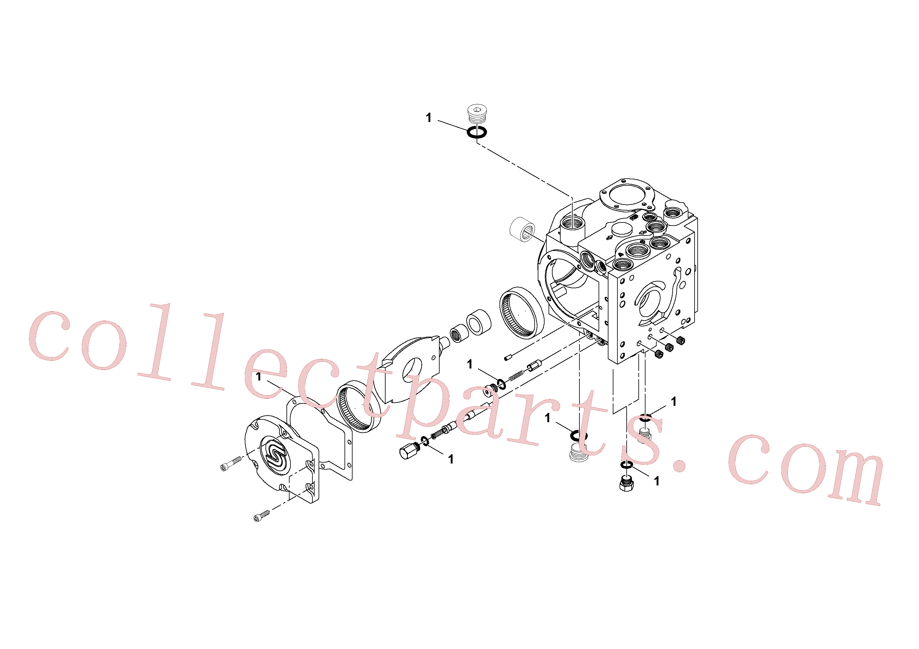 RM59051755 for Volvo Propulsion Pump(1049134 assembly)