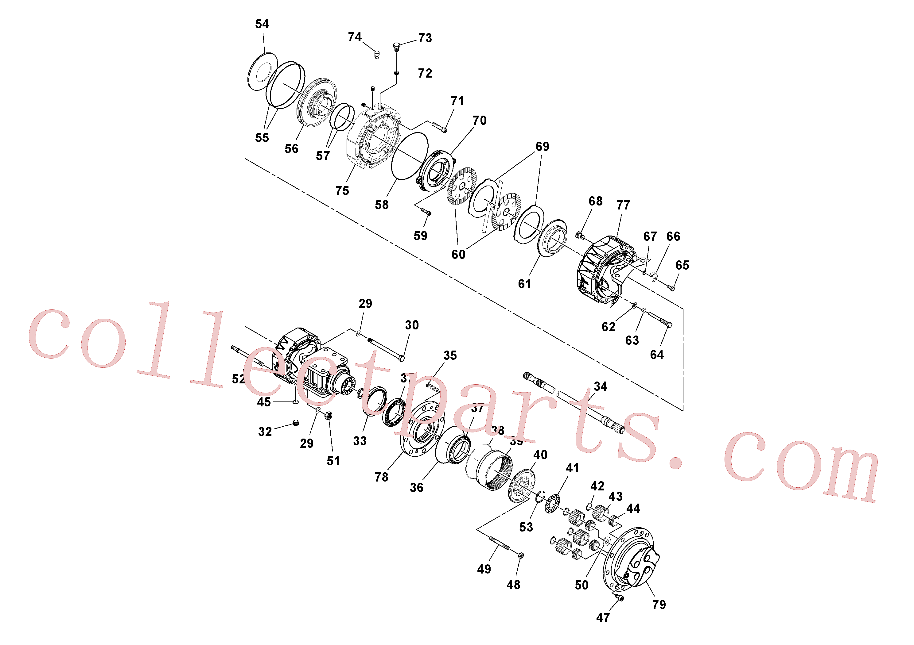 RM13229190 for Volvo Axle(1051264 assembly)