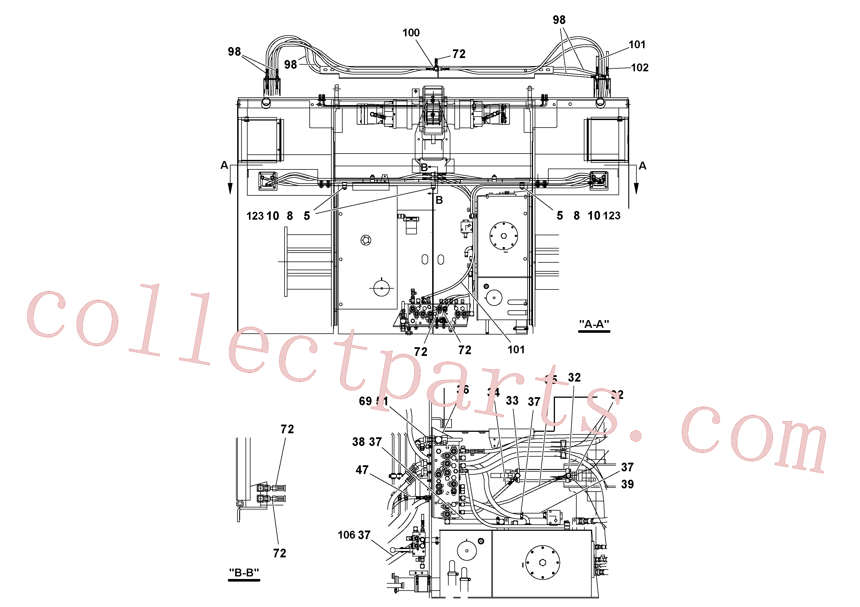 RM20200531 for Volvo Hydraulic installation(1052142 assembly)