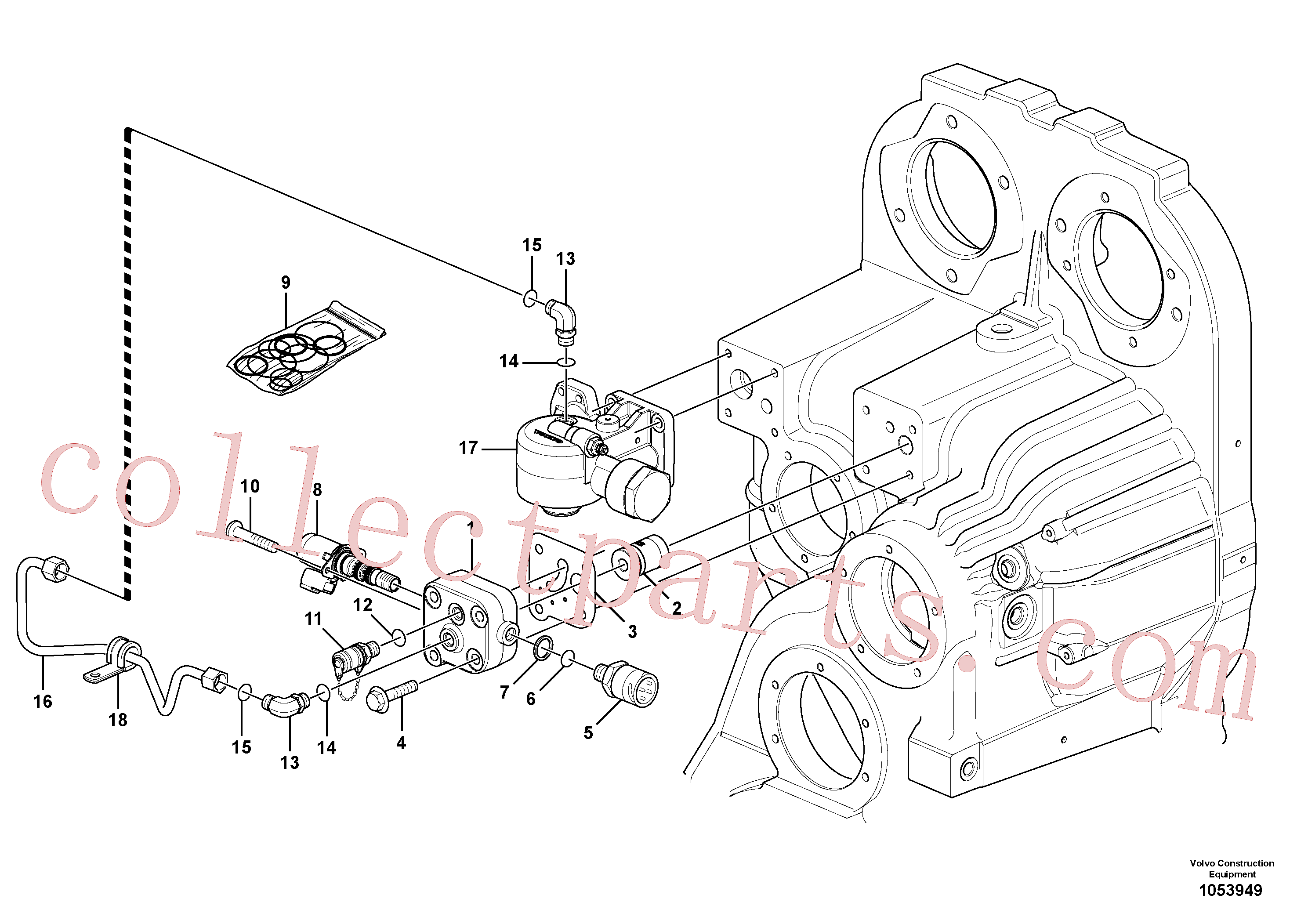 VOE15190639 for Volvo Proportionalvalve(1053949 assembly)