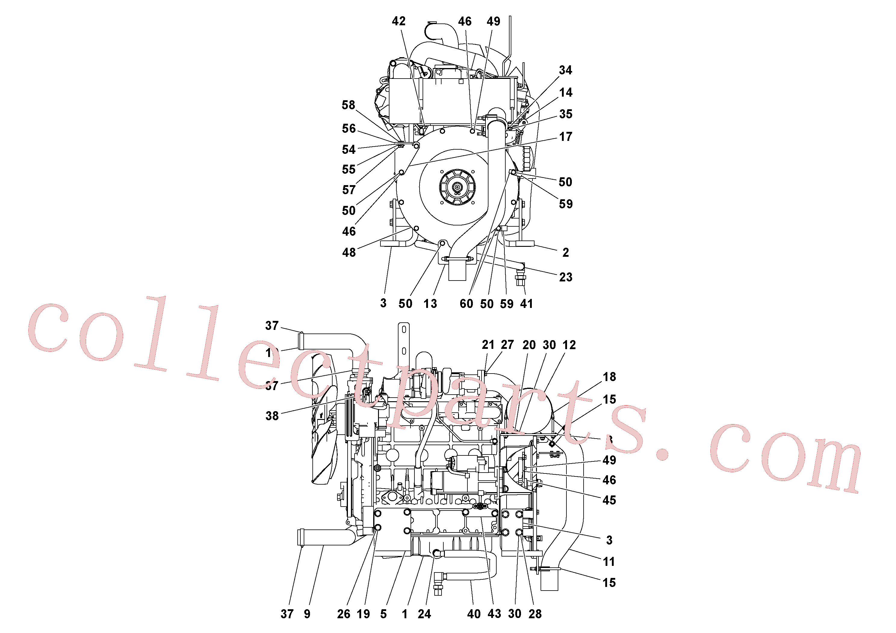 RM20194635 for Volvo Engine assembly(1054558 assembly)