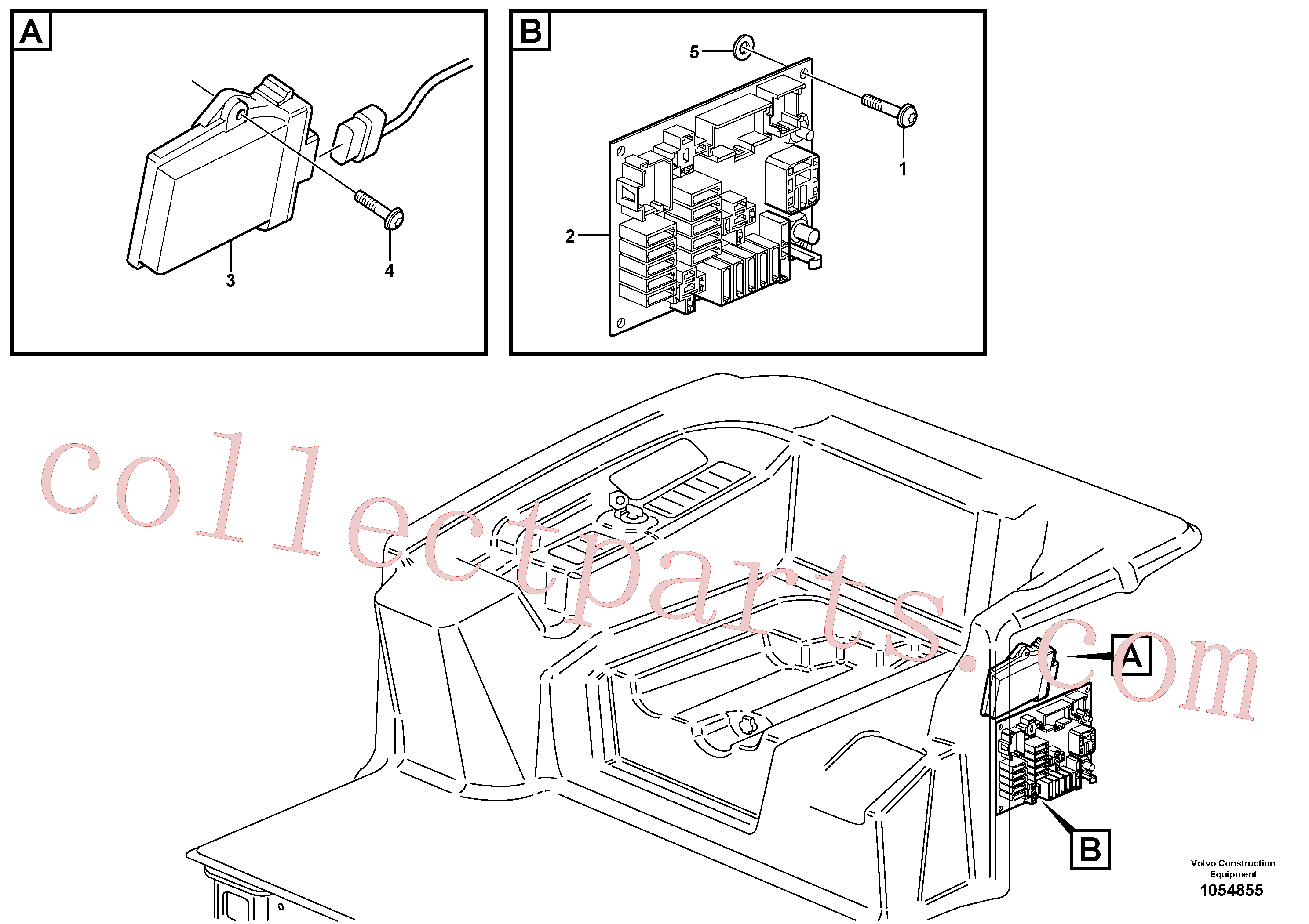 VOE969404 for Volvo Electronic unit(1054855 assembly)