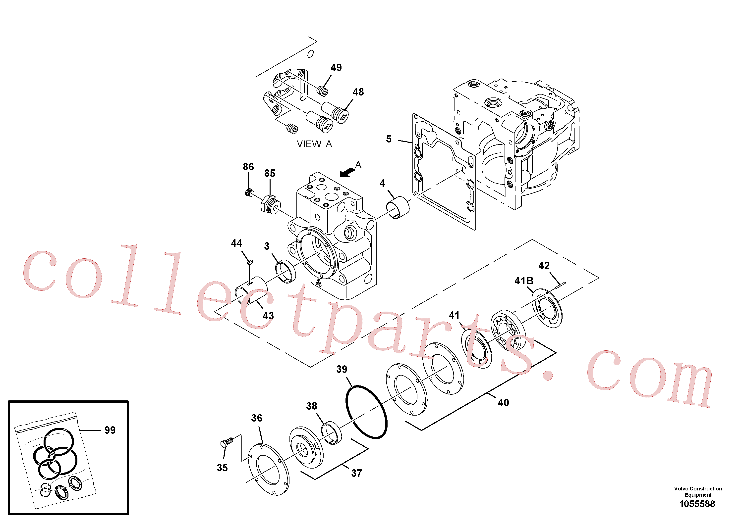 RM59933622 for Volvo Propulsion Pump(1055588 assembly)