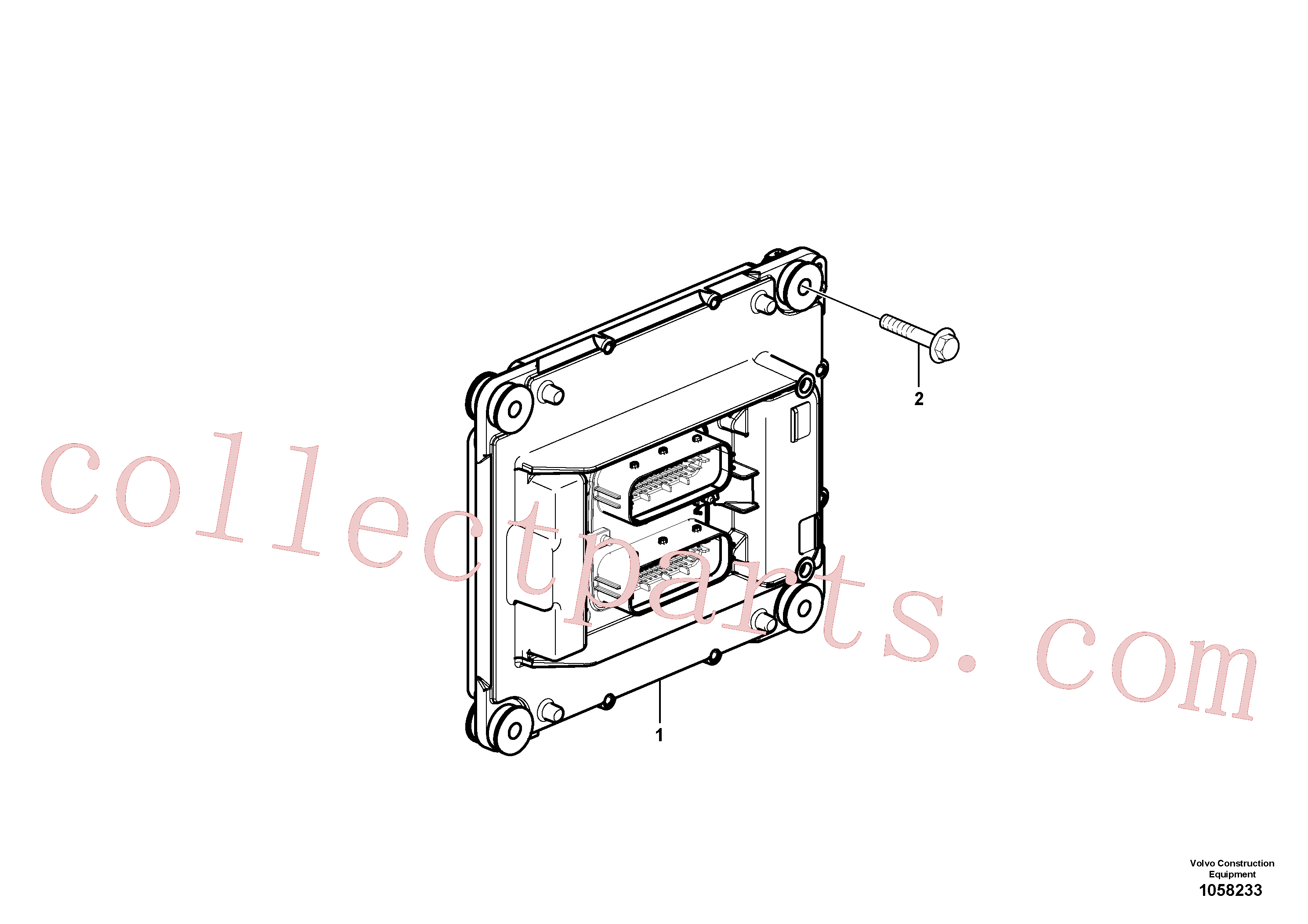 VOE947760 for Volvo Engine ECU(1058233 assembly)