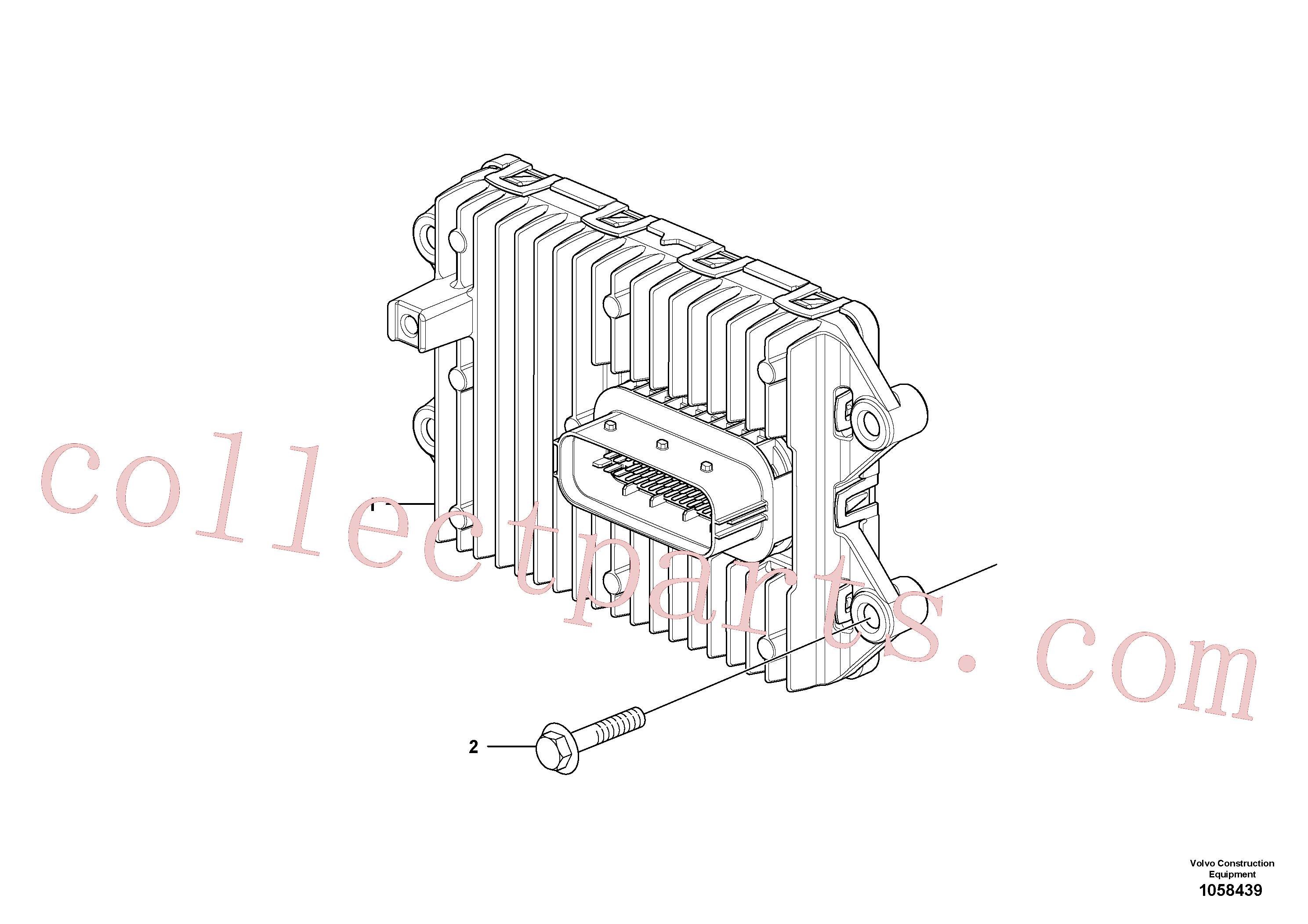 VOE947760 for Volvo Ecu(1058439 assembly)