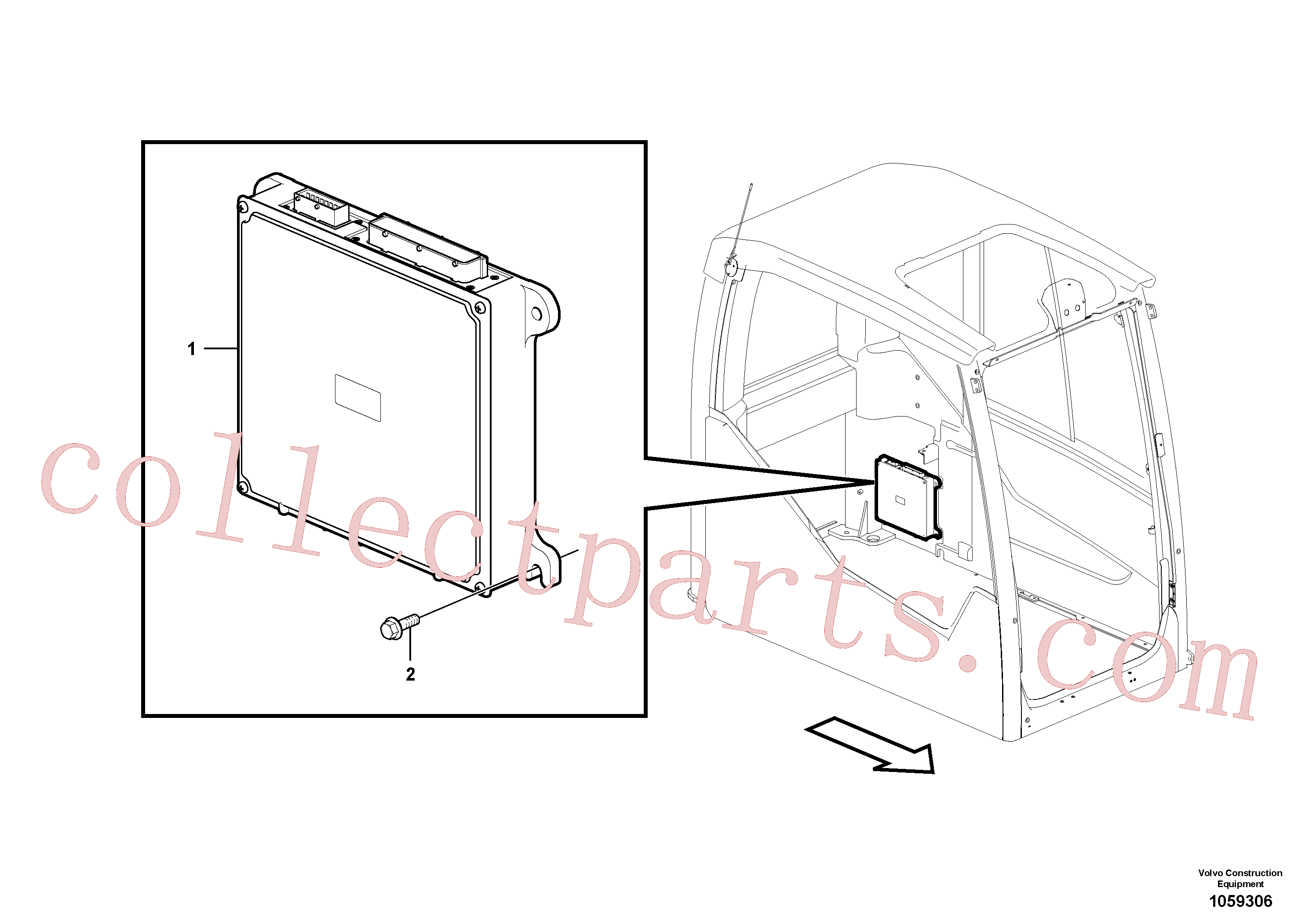 VOE13945444 for Volvo Electronic unit(1059306 assembly)
