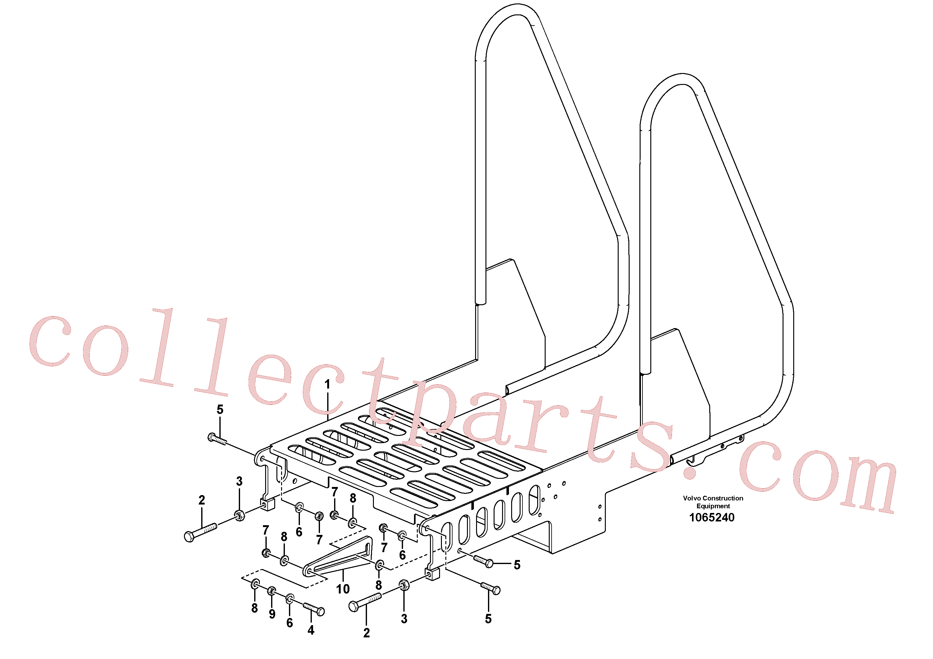 RM96722152 for Volvo Railing(1065240 assembly)